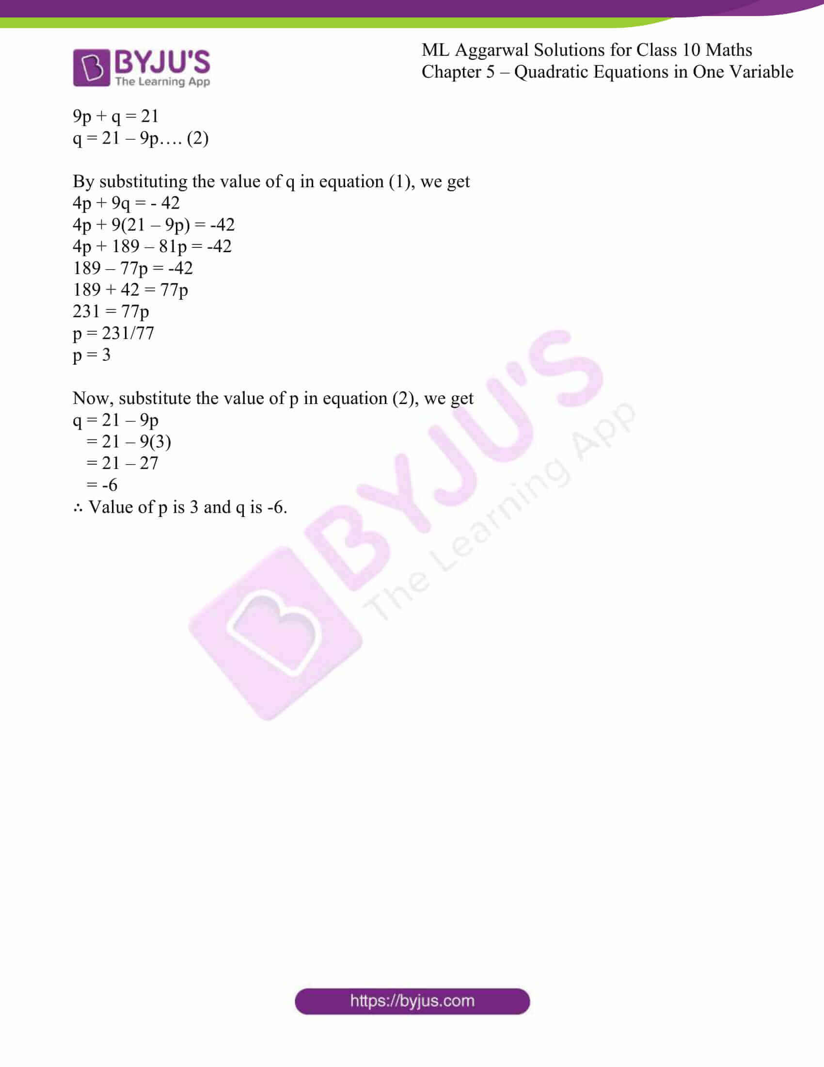ml aggarwal solutions class 10 maths chapter 5 05