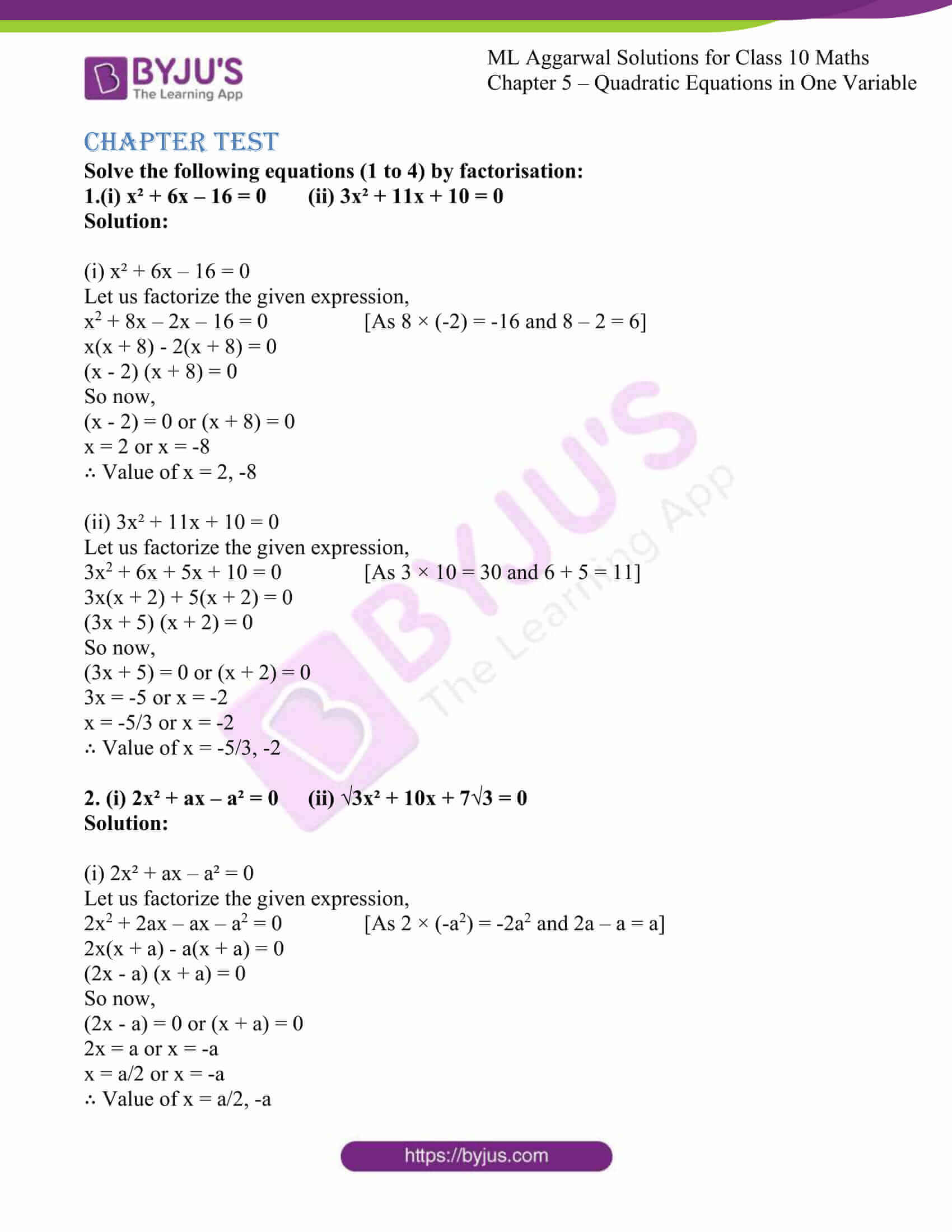 ml aggarwal solutions class 10 maths chapter 5 68