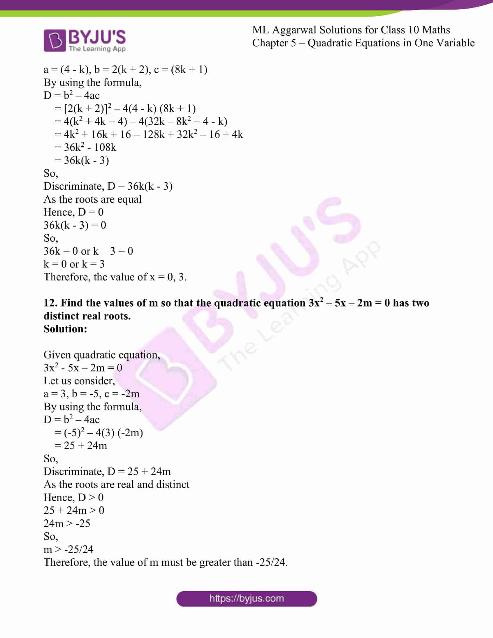 ml aggarwal solutions class 10 maths chapter 5 81