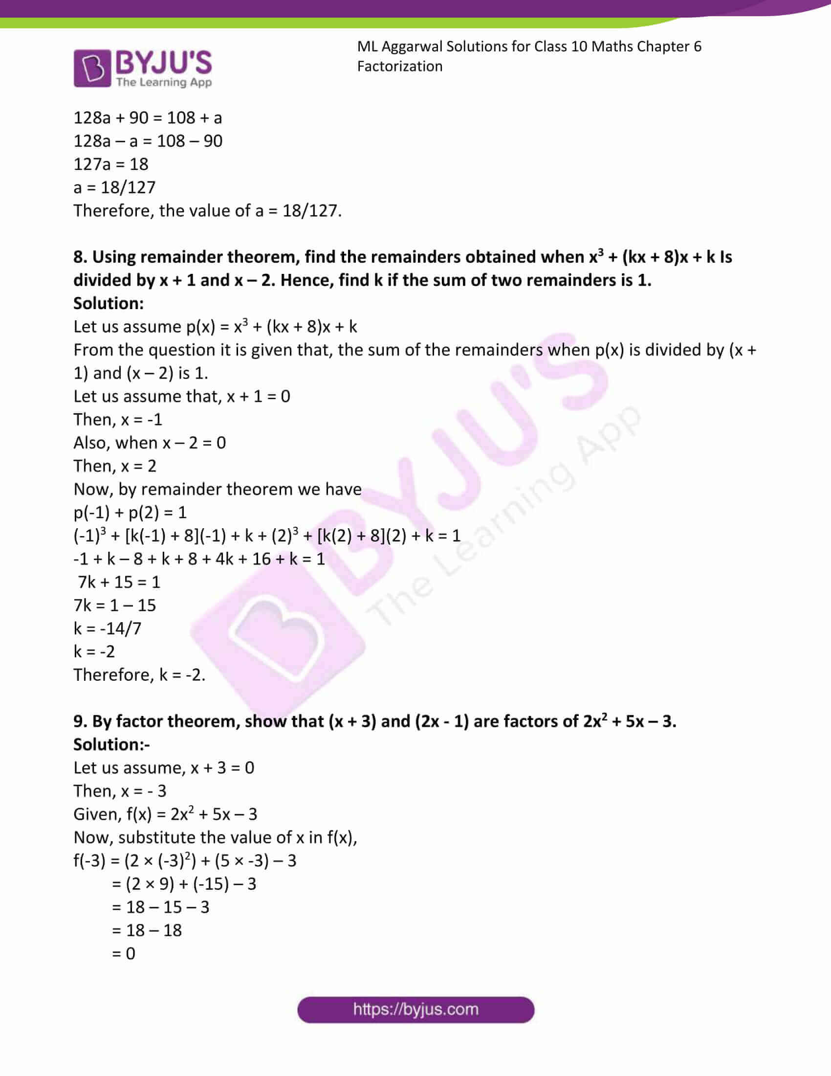 ml aggarwal solutions class 10 maths chapter 6 07