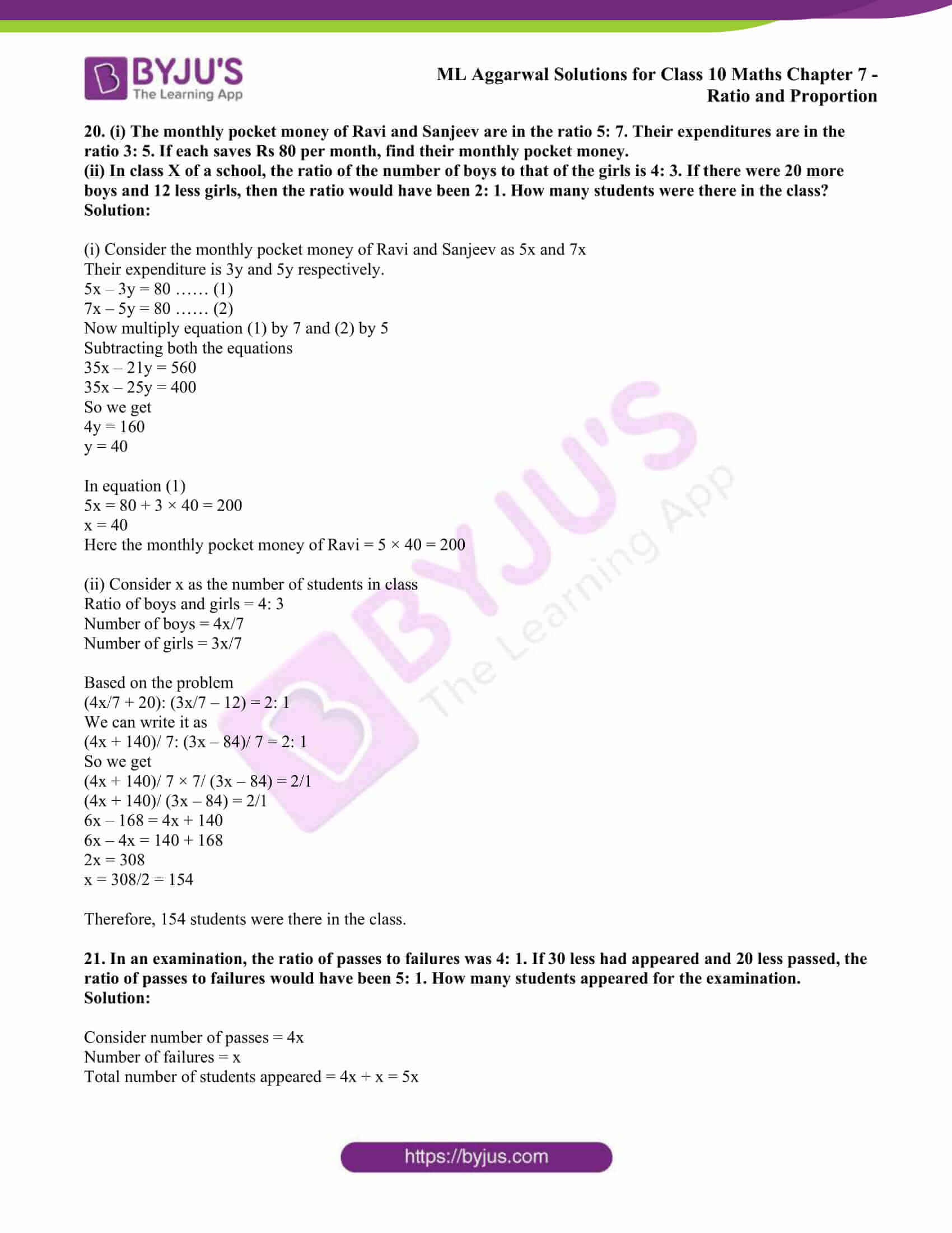 ml aggarwal solutions class 10 maths chapter 7 13