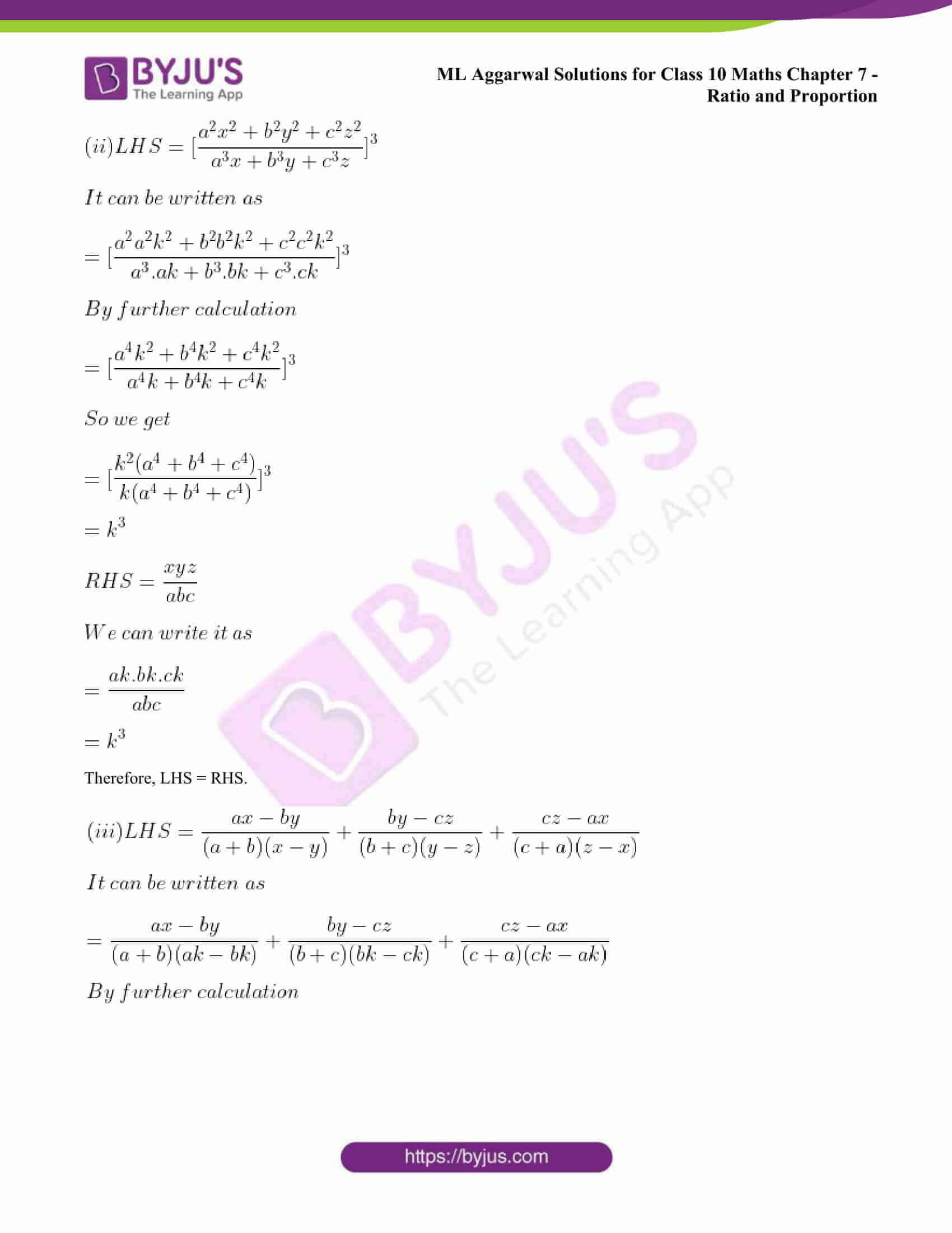 ml aggarwal solutions class 10 maths chapter 7 25