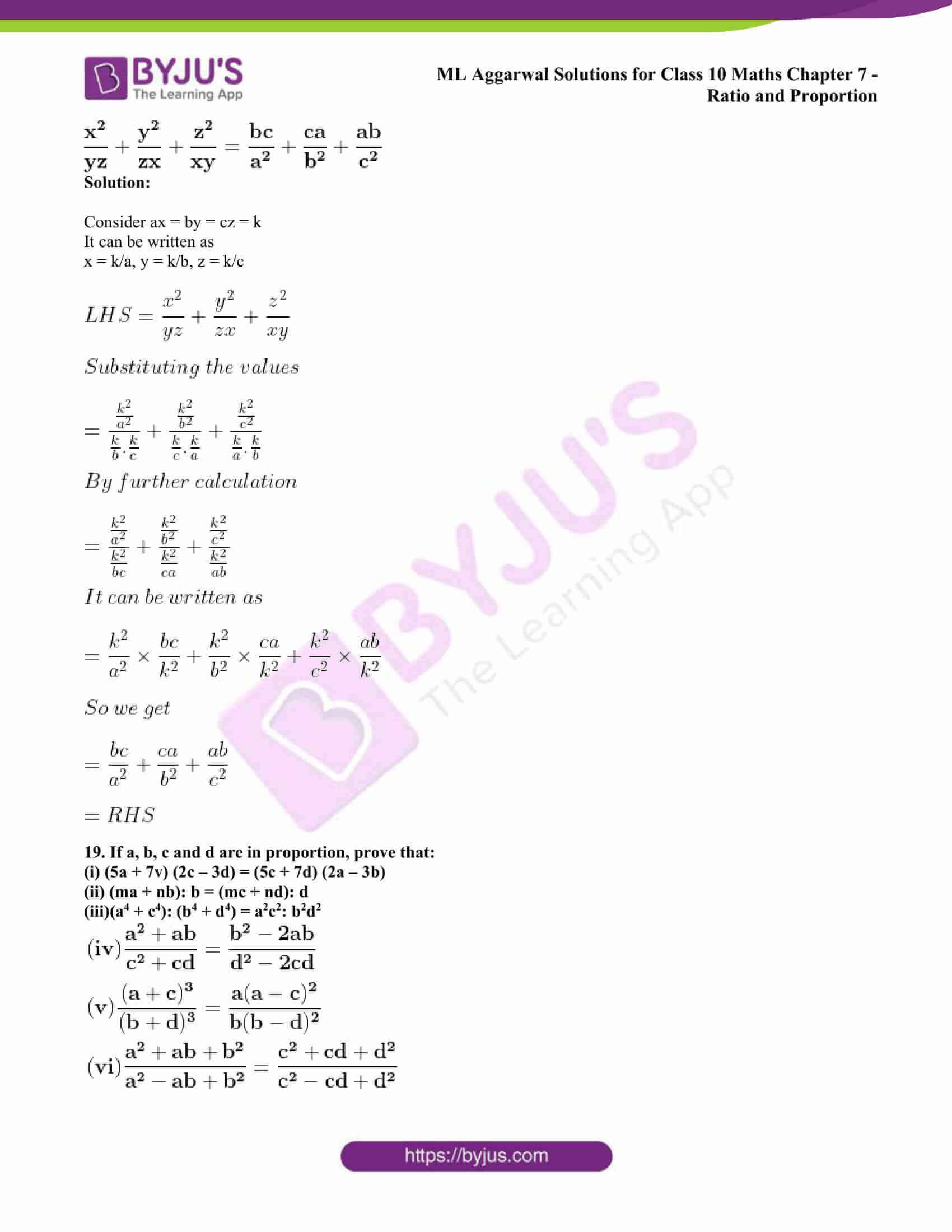 ml aggarwal solutions class 10 maths chapter 7 29