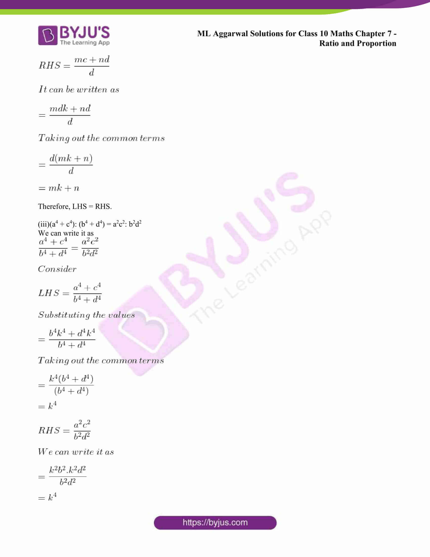ml aggarwal solutions class 10 maths chapter 7 31