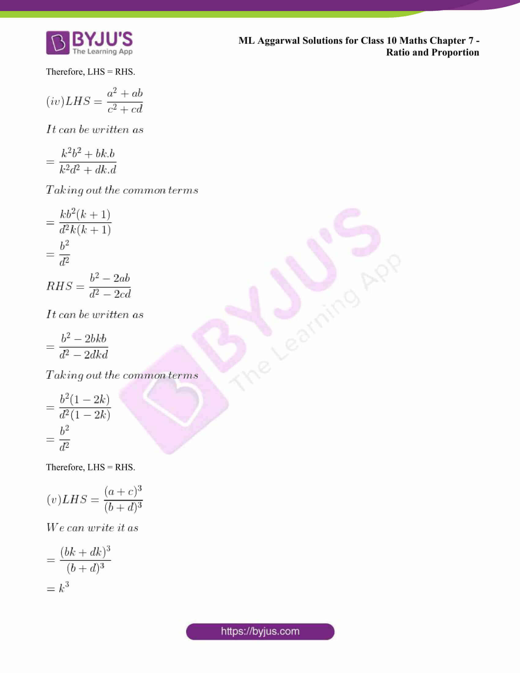 ml aggarwal solutions class 10 maths chapter 7 32