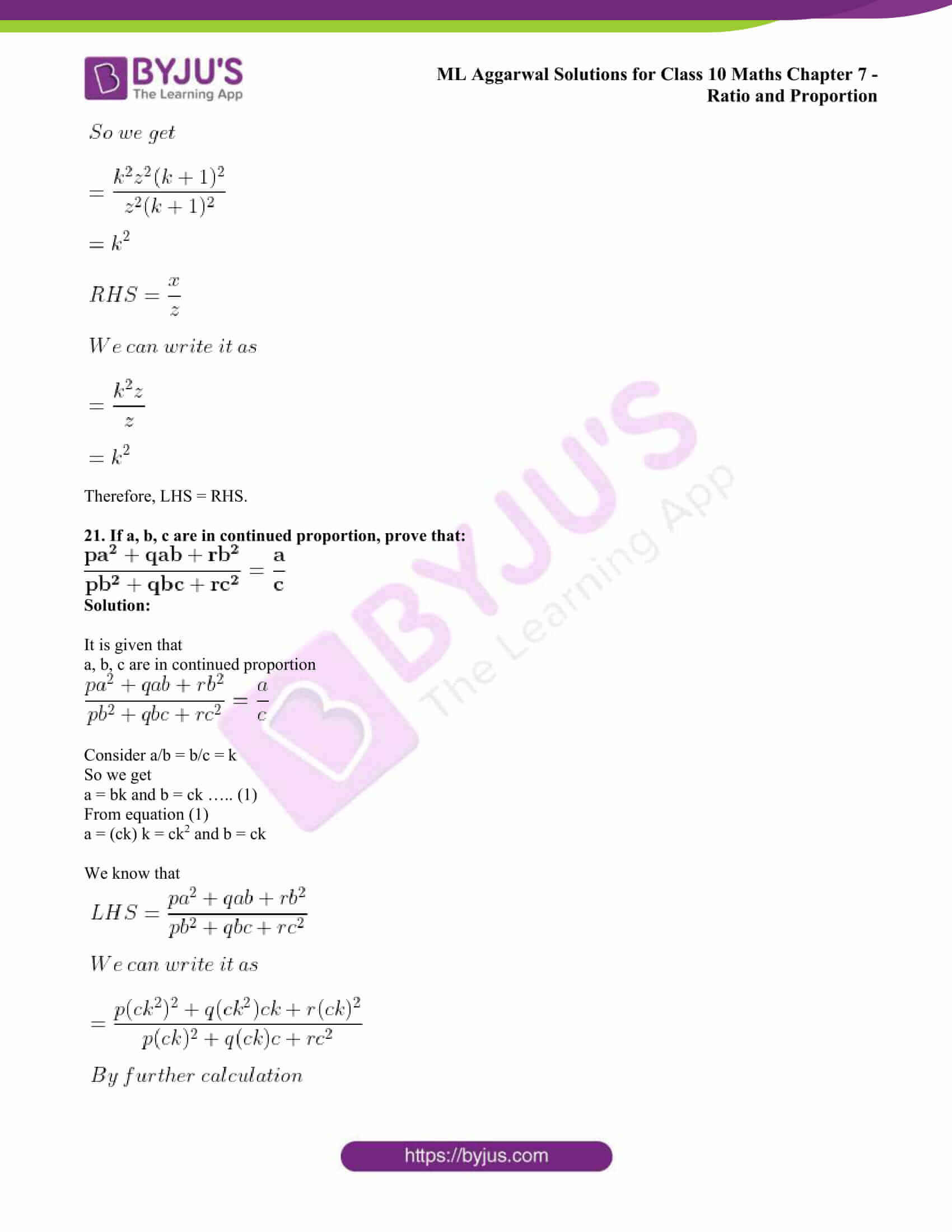 ml aggarwal solutions class 10 maths chapter 7 36