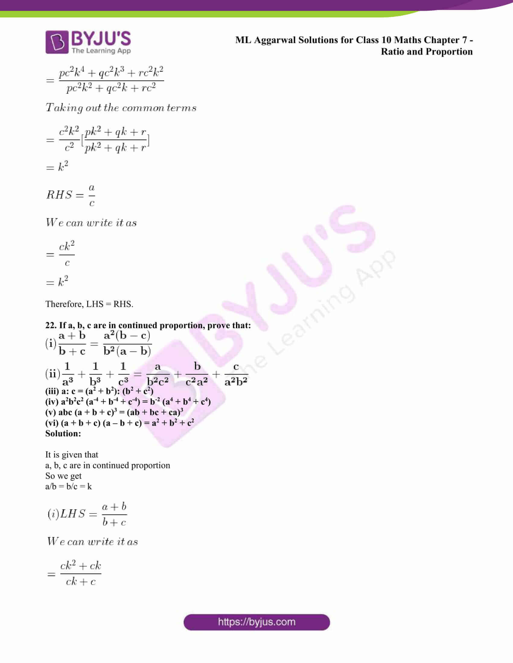 ml aggarwal solutions class 10 maths chapter 7 37