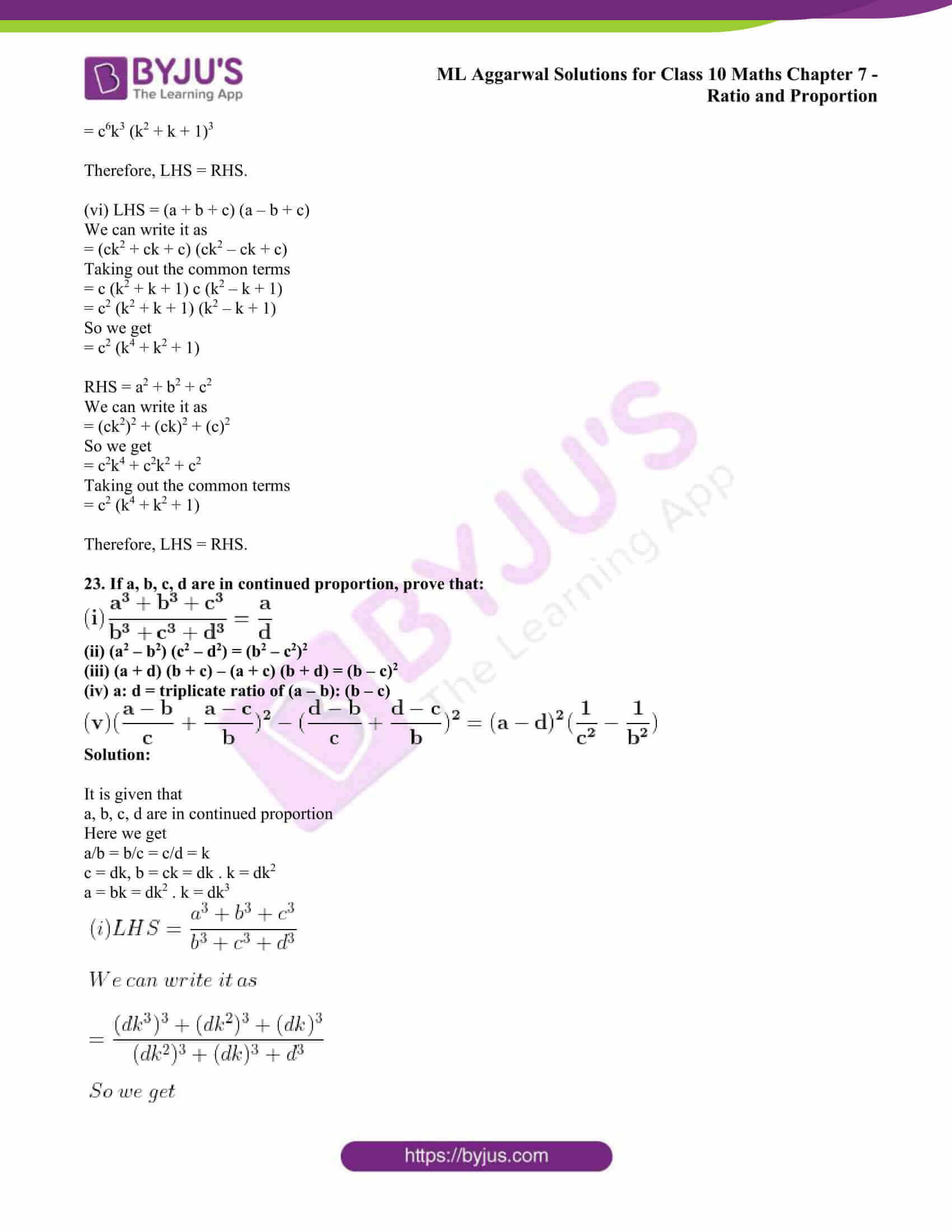 ml aggarwal solutions class 10 maths chapter 7 42