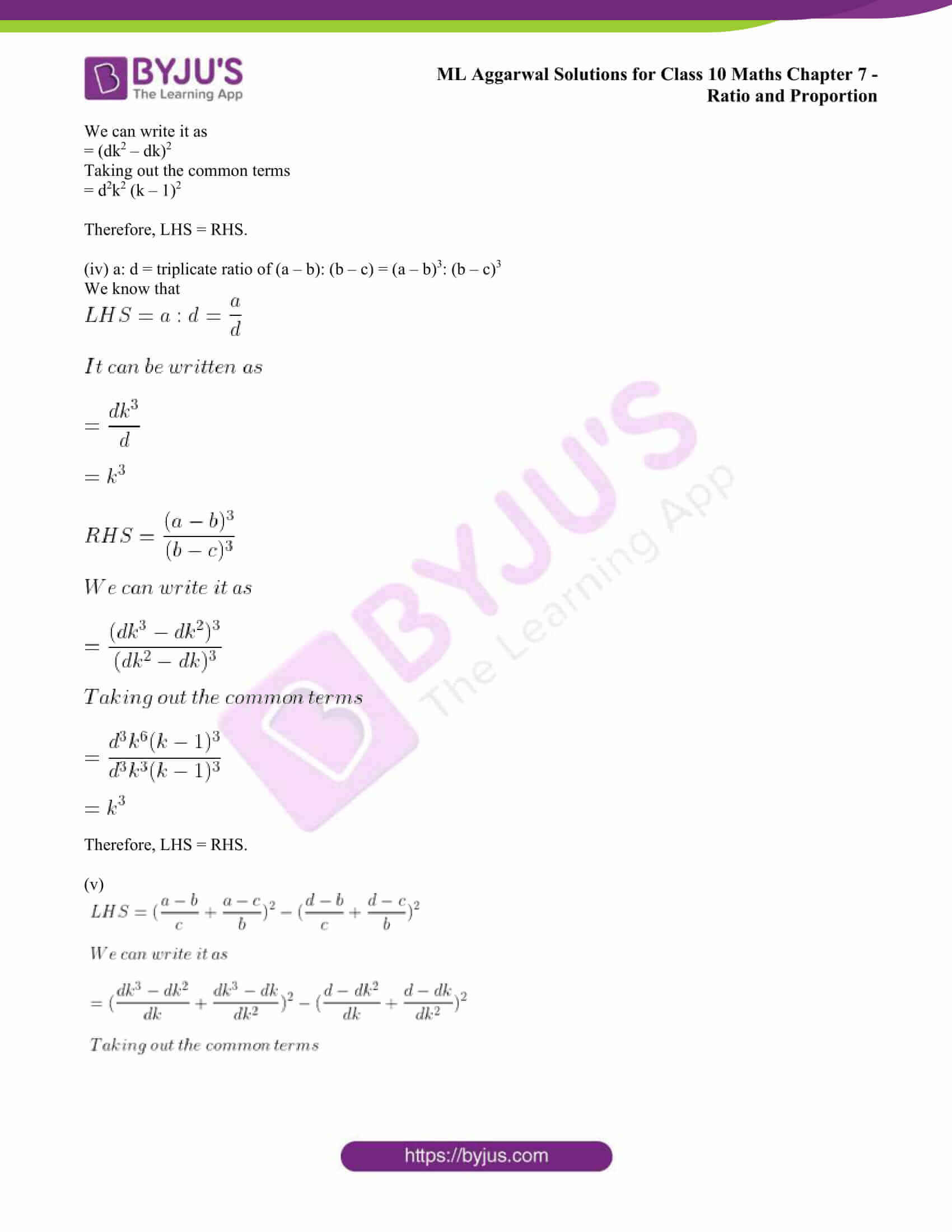 ml aggarwal solutions class 10 maths chapter 7 44