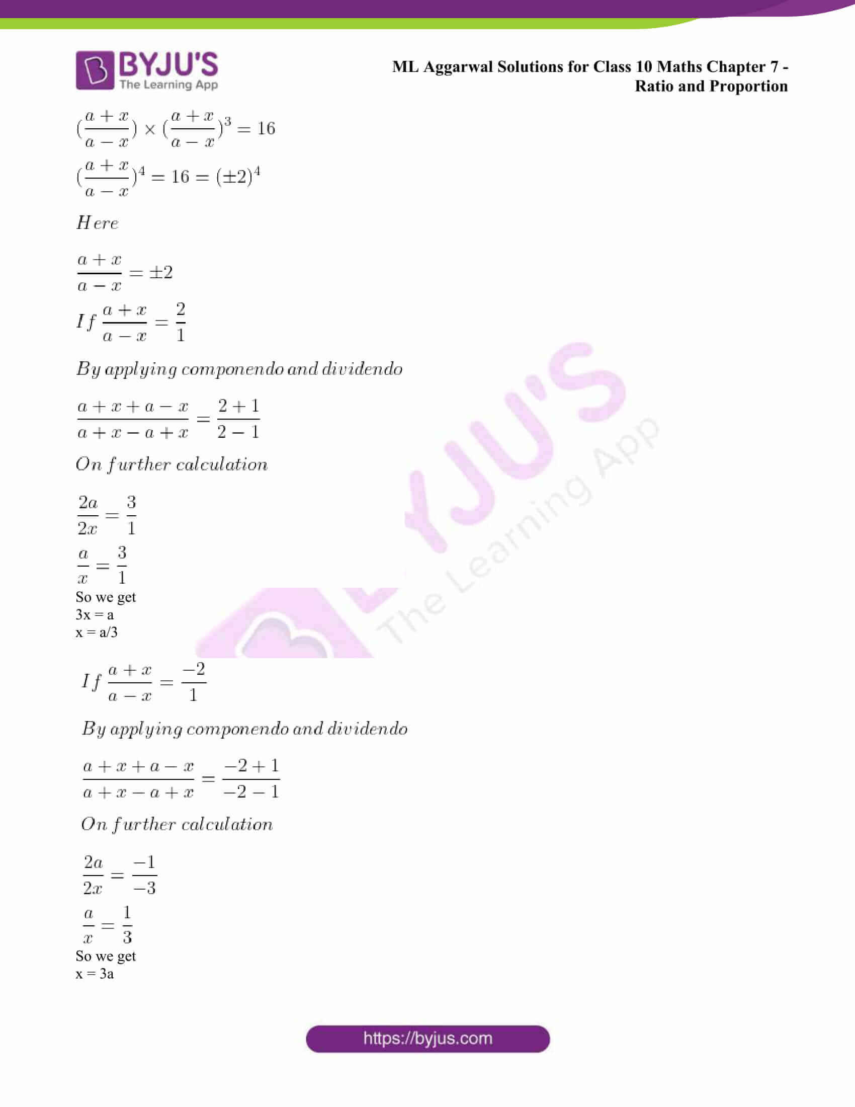 ml aggarwal solutions class 10 maths chapter 7 63
