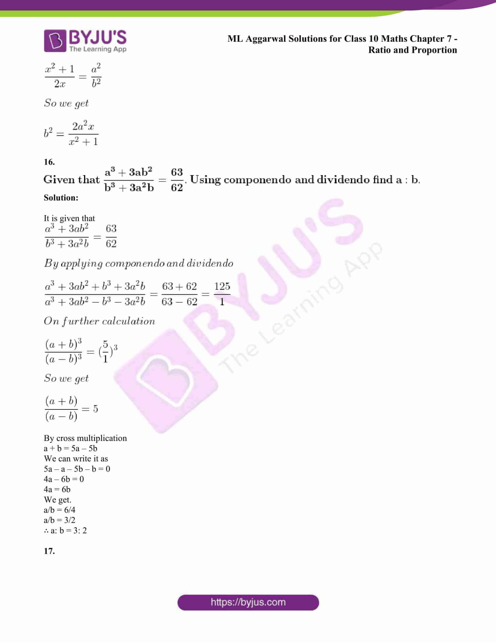 ml aggarwal solutions class 10 maths chapter 7 66