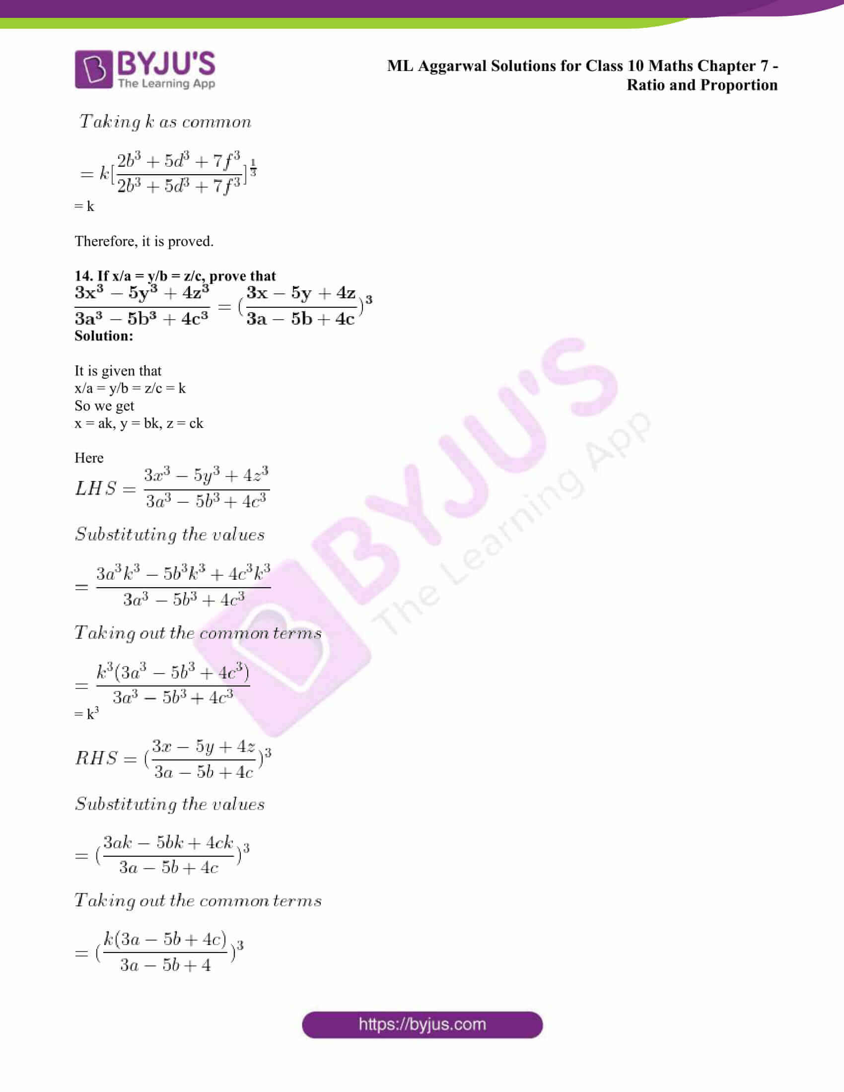 ml aggarwal solutions class 10 maths chapter 7 77