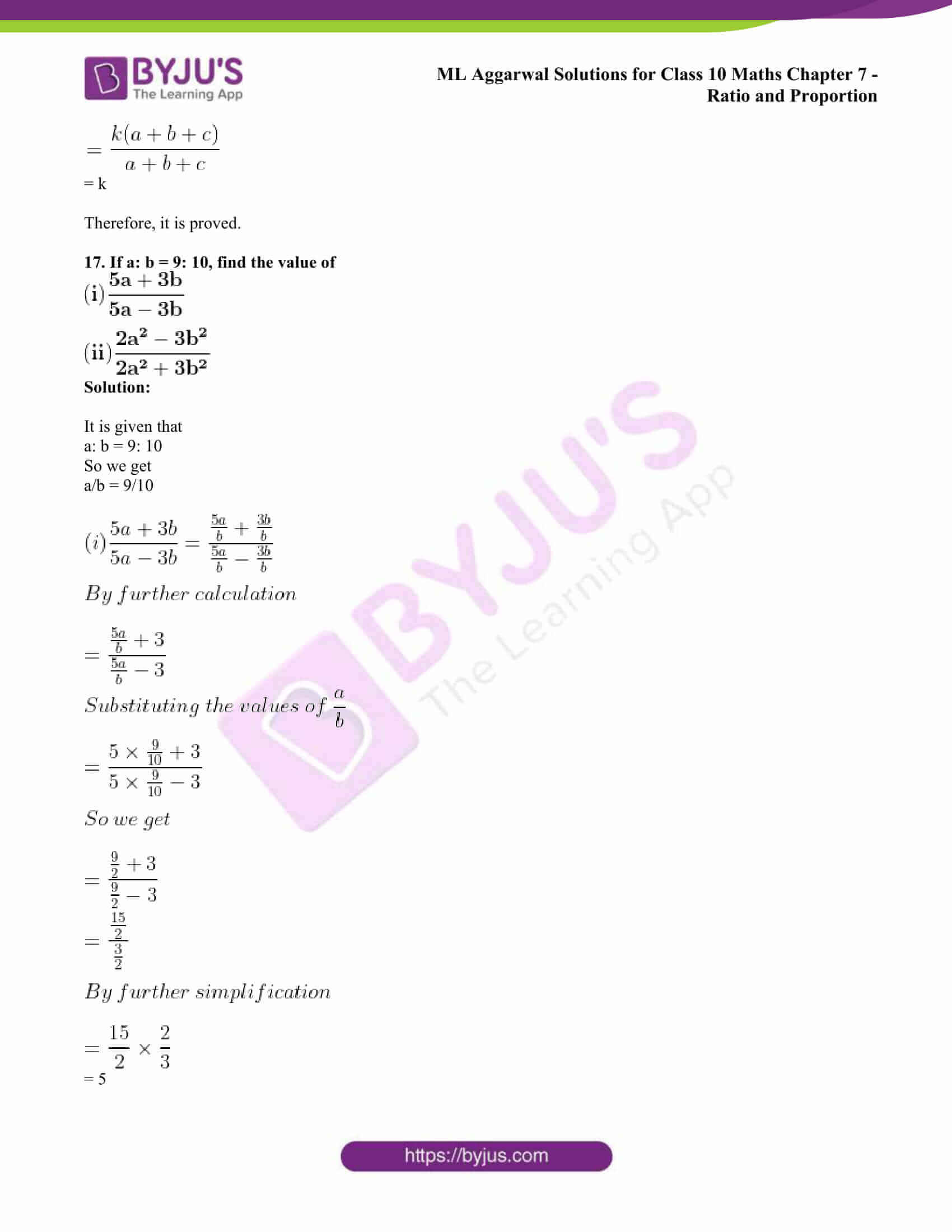 ml aggarwal solutions class 10 maths chapter 7 80