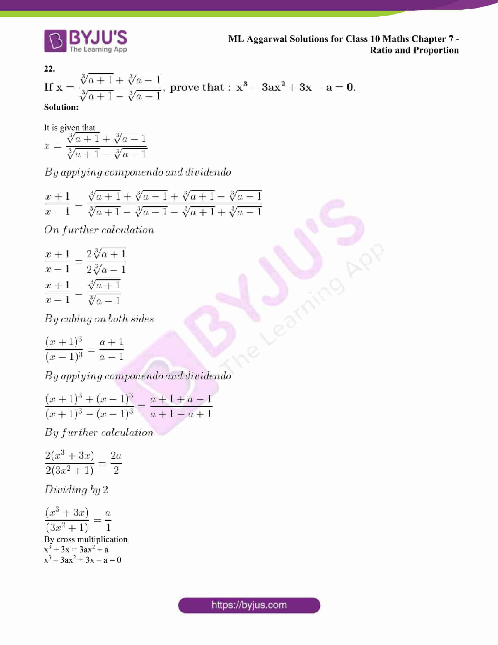 ml aggarwal solutions class 10 maths chapter 7 87