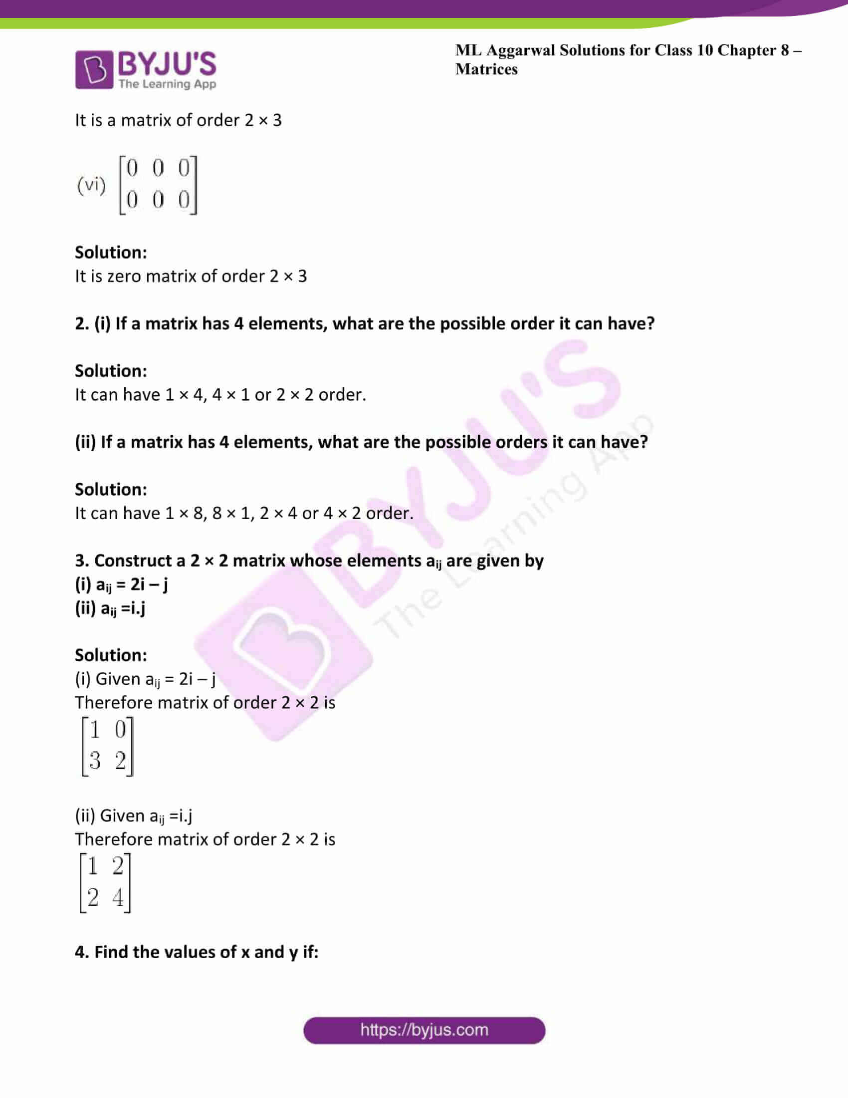 ml aggarwal solutions class 10 maths chapter 8 02