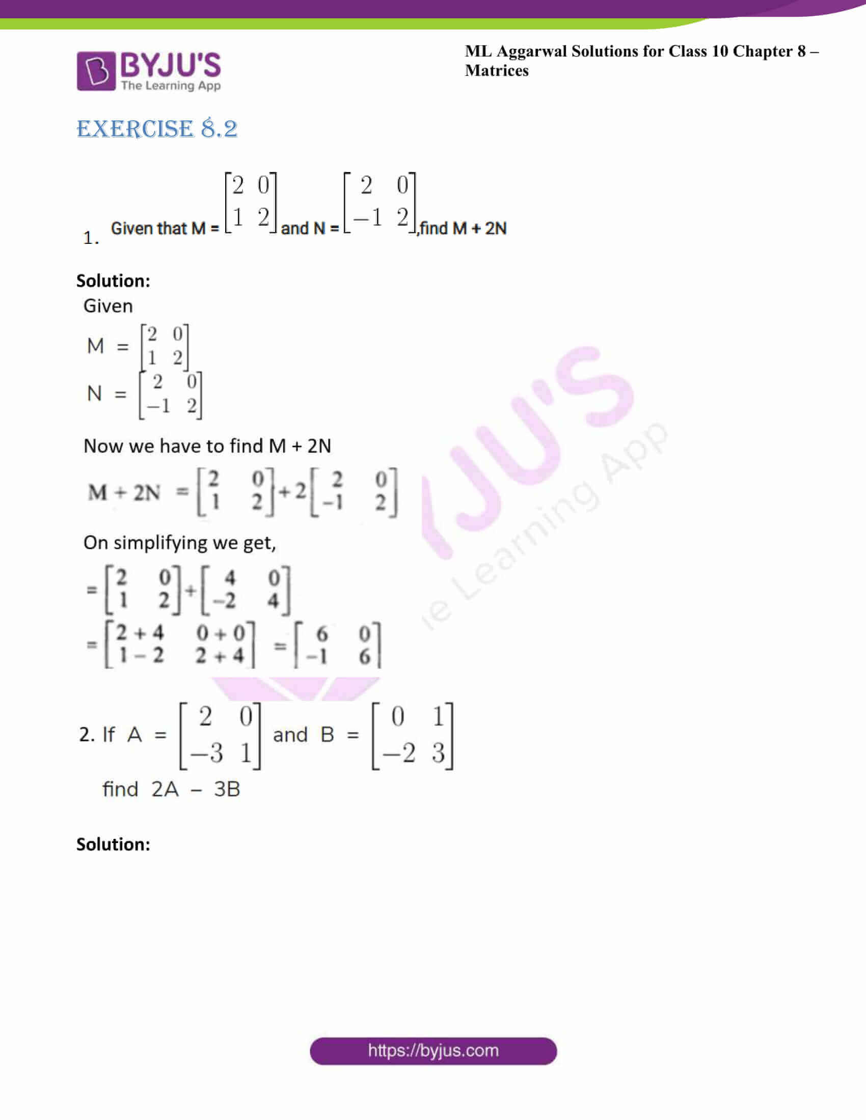 ml aggarwal solutions class 10 maths chapter 8 08