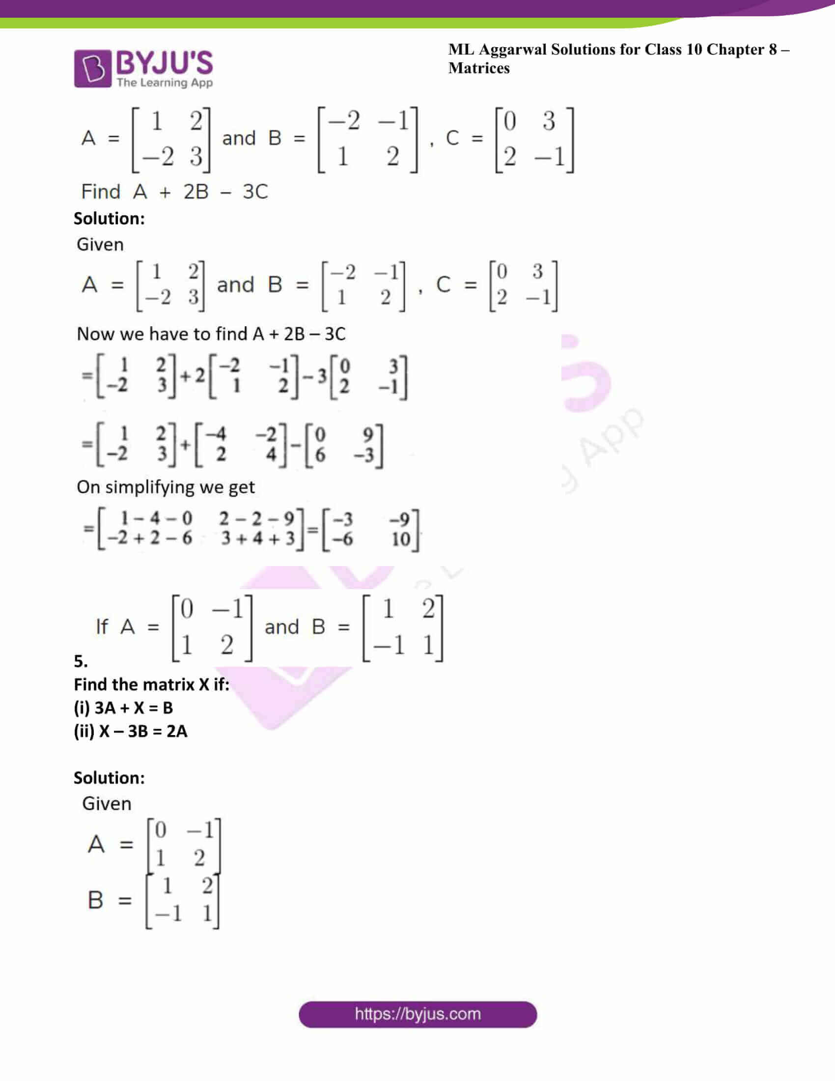 ml aggarwal solutions class 10 maths chapter 8 10