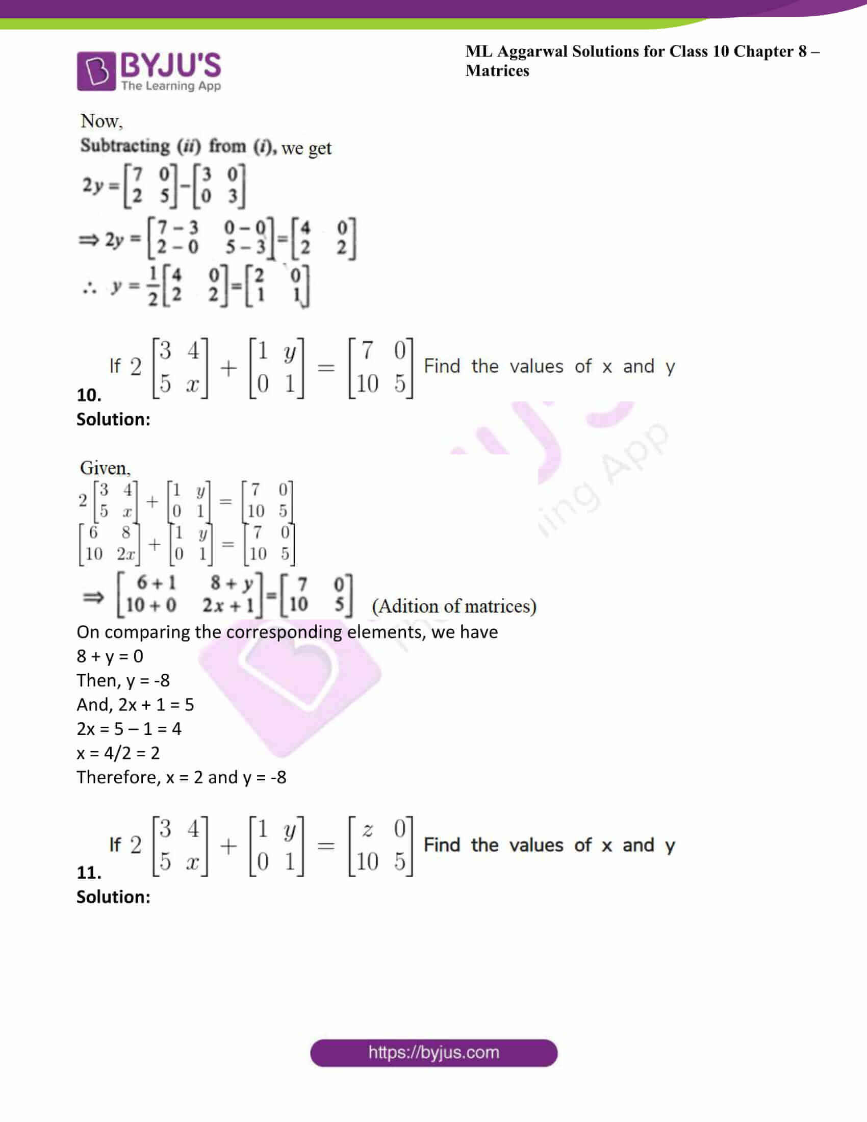ml aggarwal solutions class 10 maths chapter 8 14