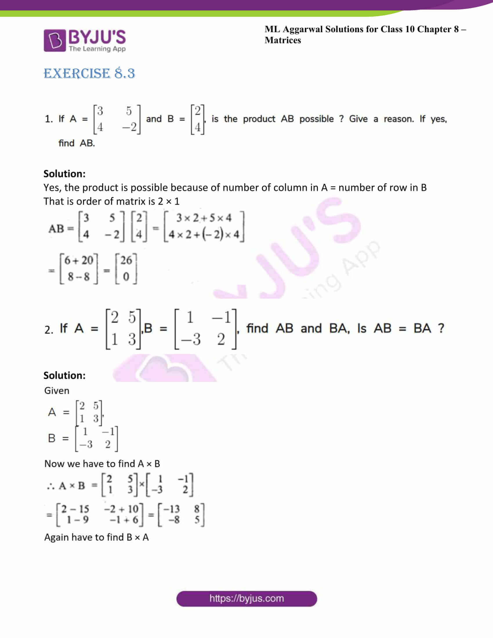 ml aggarwal solutions class 10 maths chapter 8 18