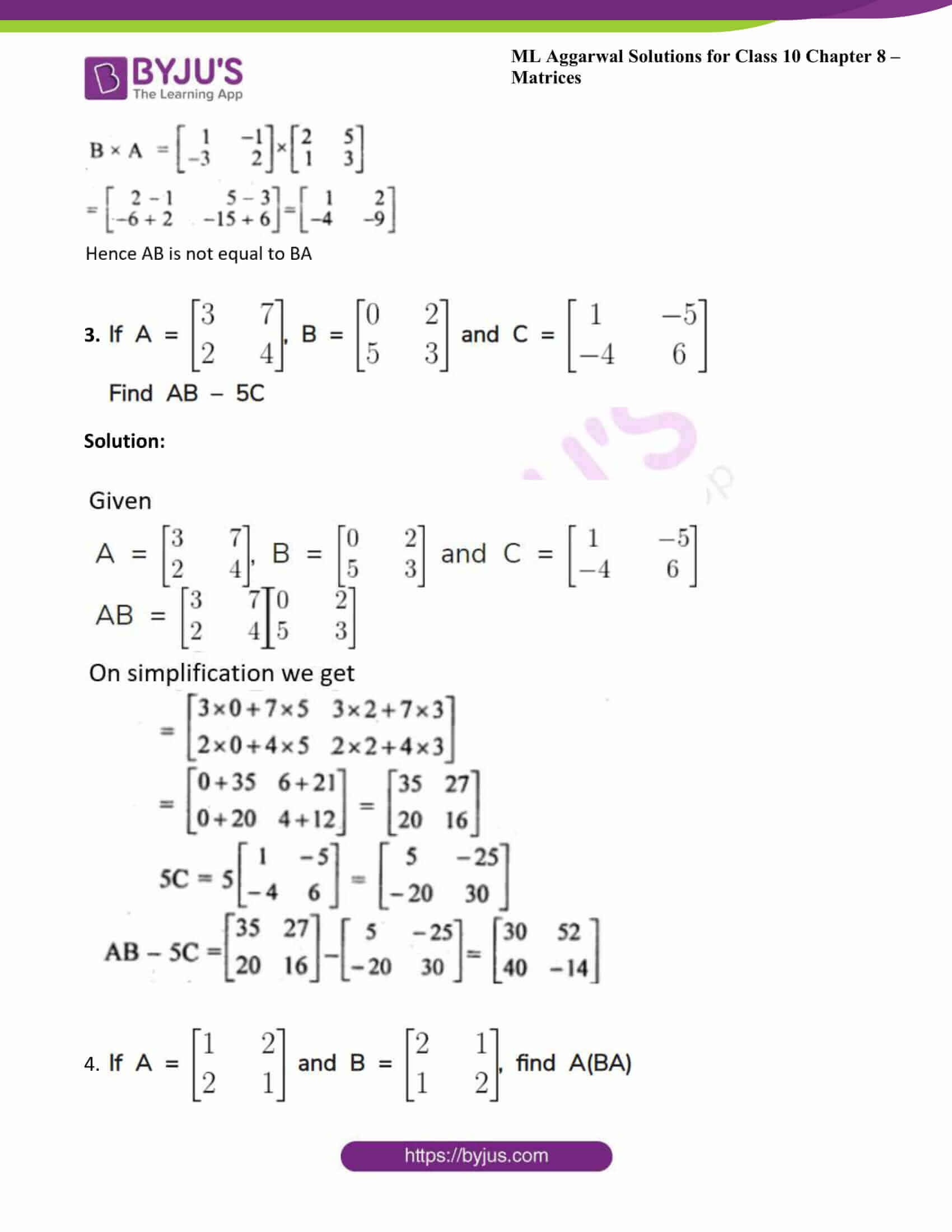ml aggarwal solutions class 10 maths chapter 8 19