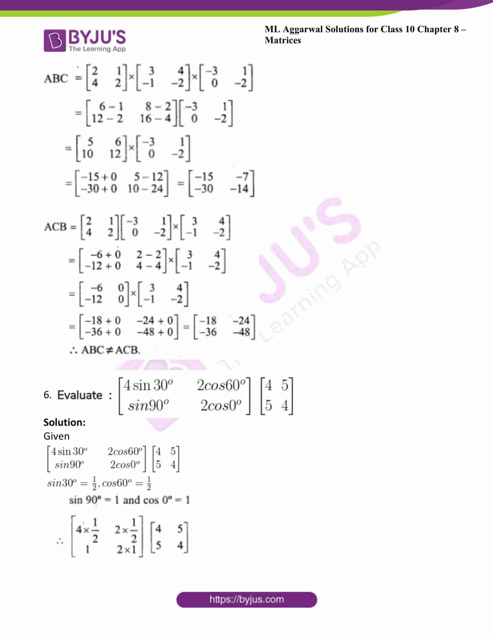 ml aggarwal solutions class 10 maths chapter 8 21