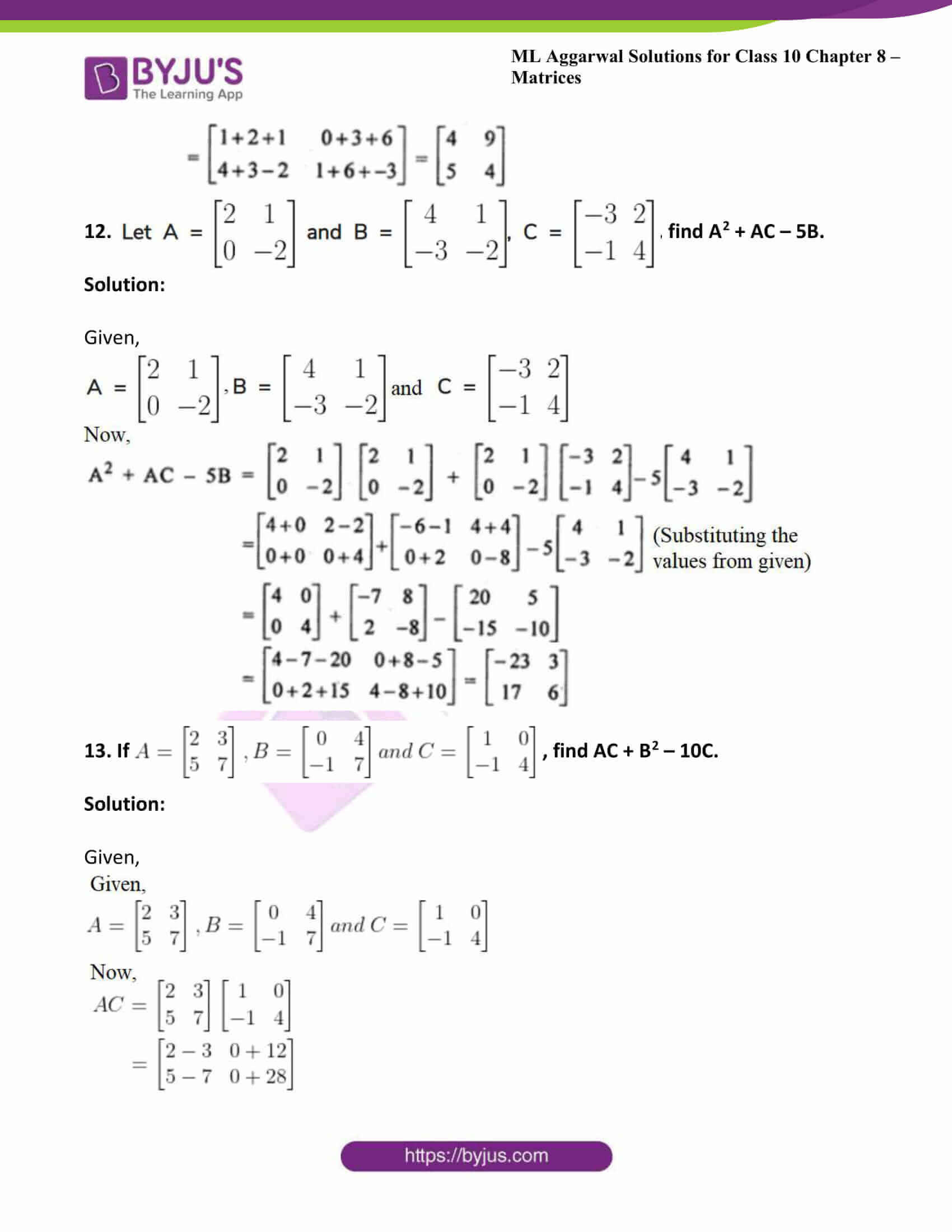 ml aggarwal solutions class 10 maths chapter 8 26