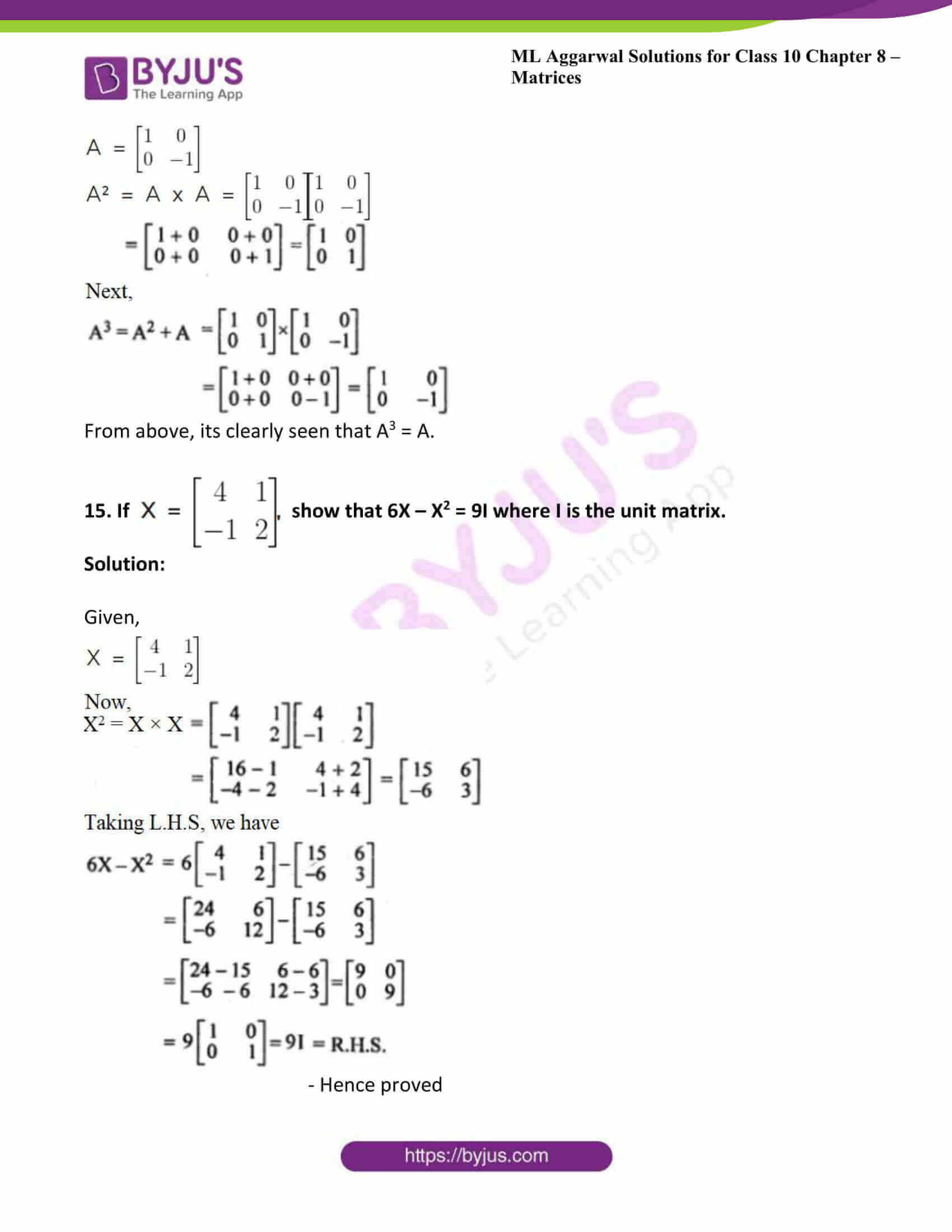 ml aggarwal solutions class 10 maths chapter 8 28