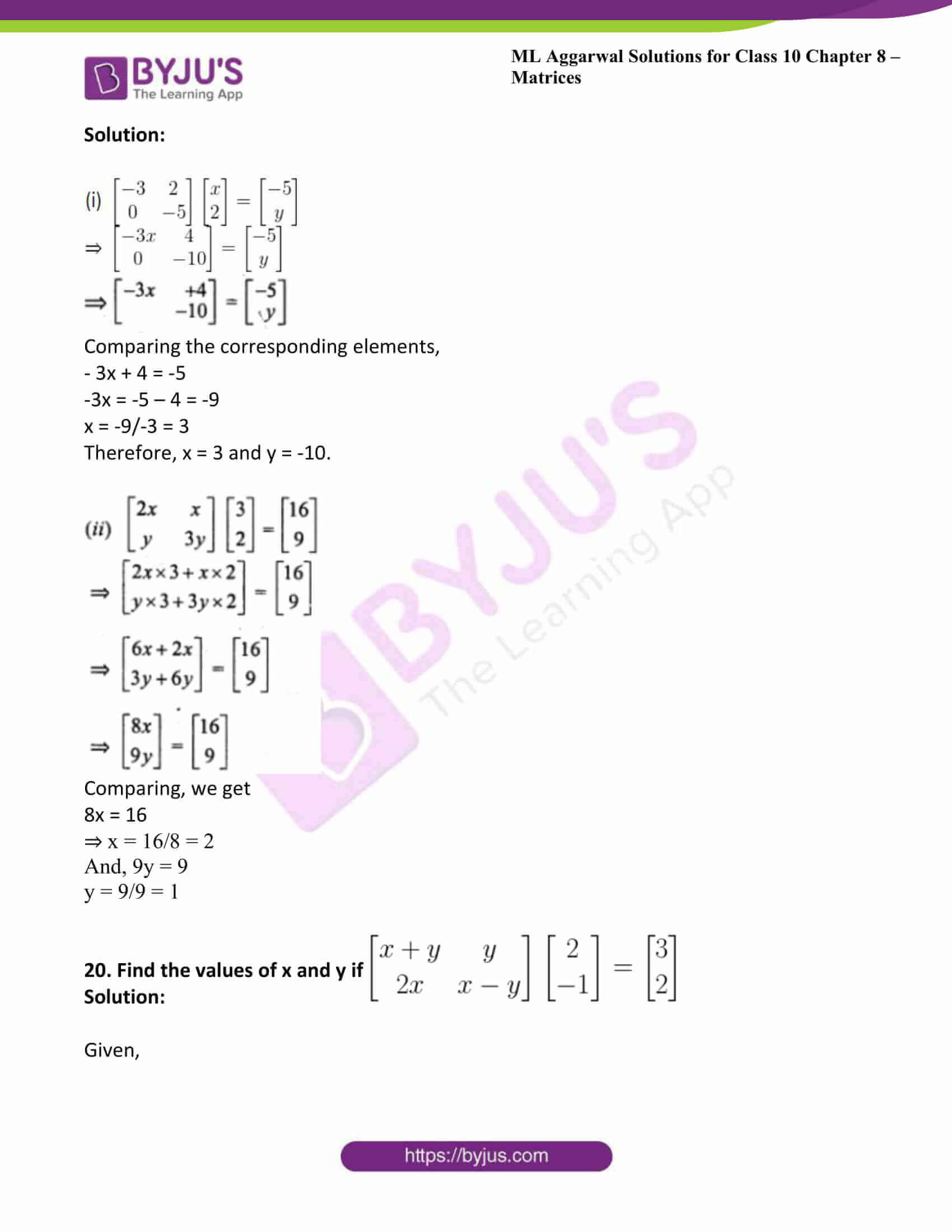 ml aggarwal solutions class 10 maths chapter 8 31