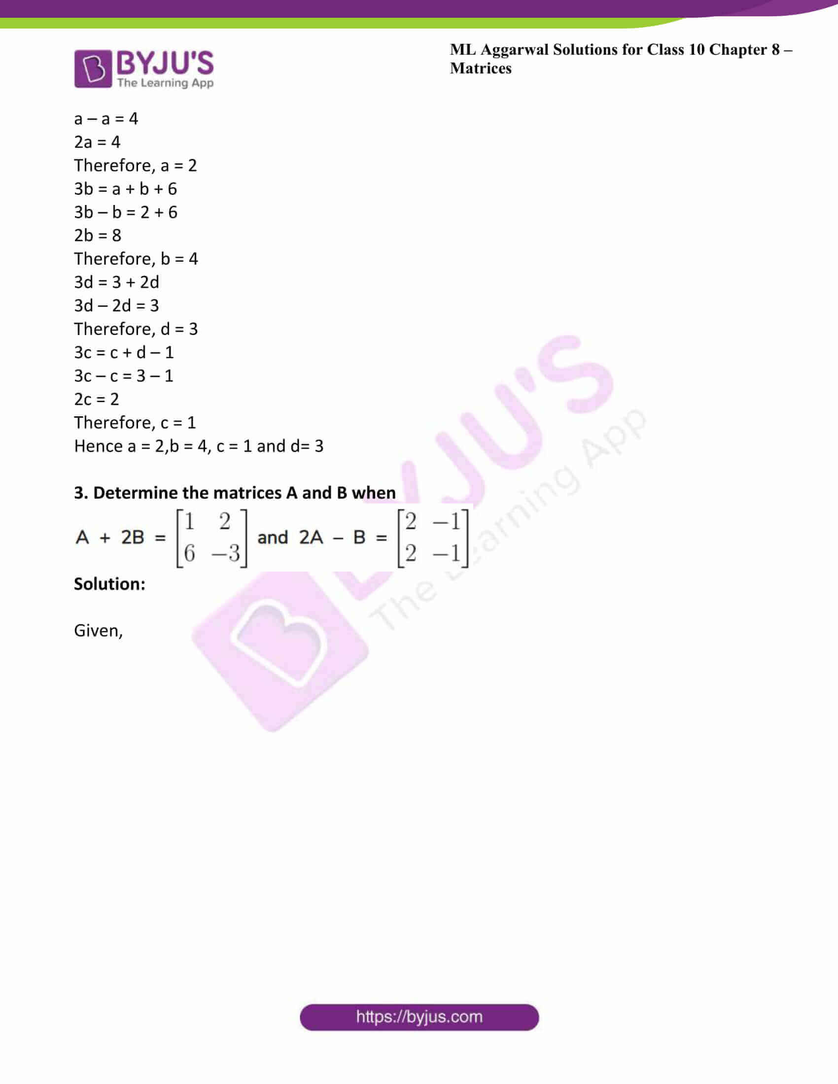 ml aggarwal solutions class 10 maths chapter 8 34