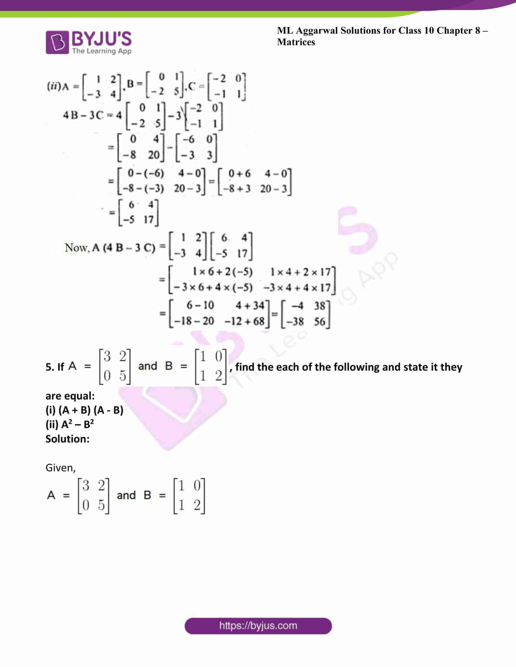 ml aggarwal solutions class 10 maths chapter 8 37