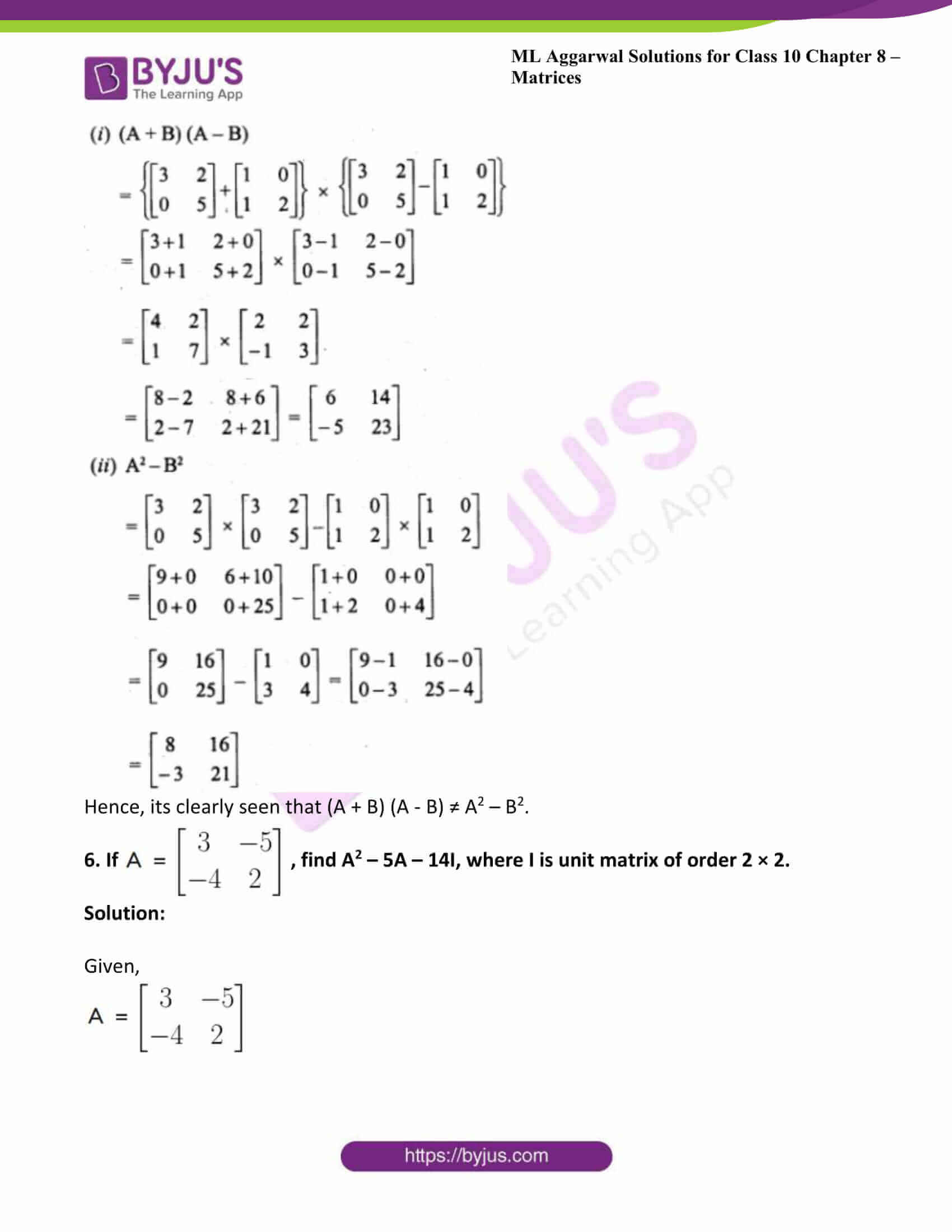 ml aggarwal solutions class 10 maths chapter 8 38