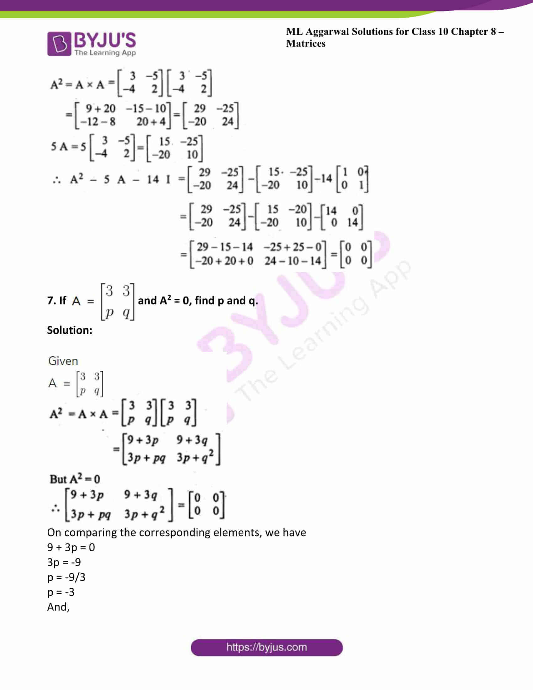 ml aggarwal solutions class 10 maths chapter 8 39