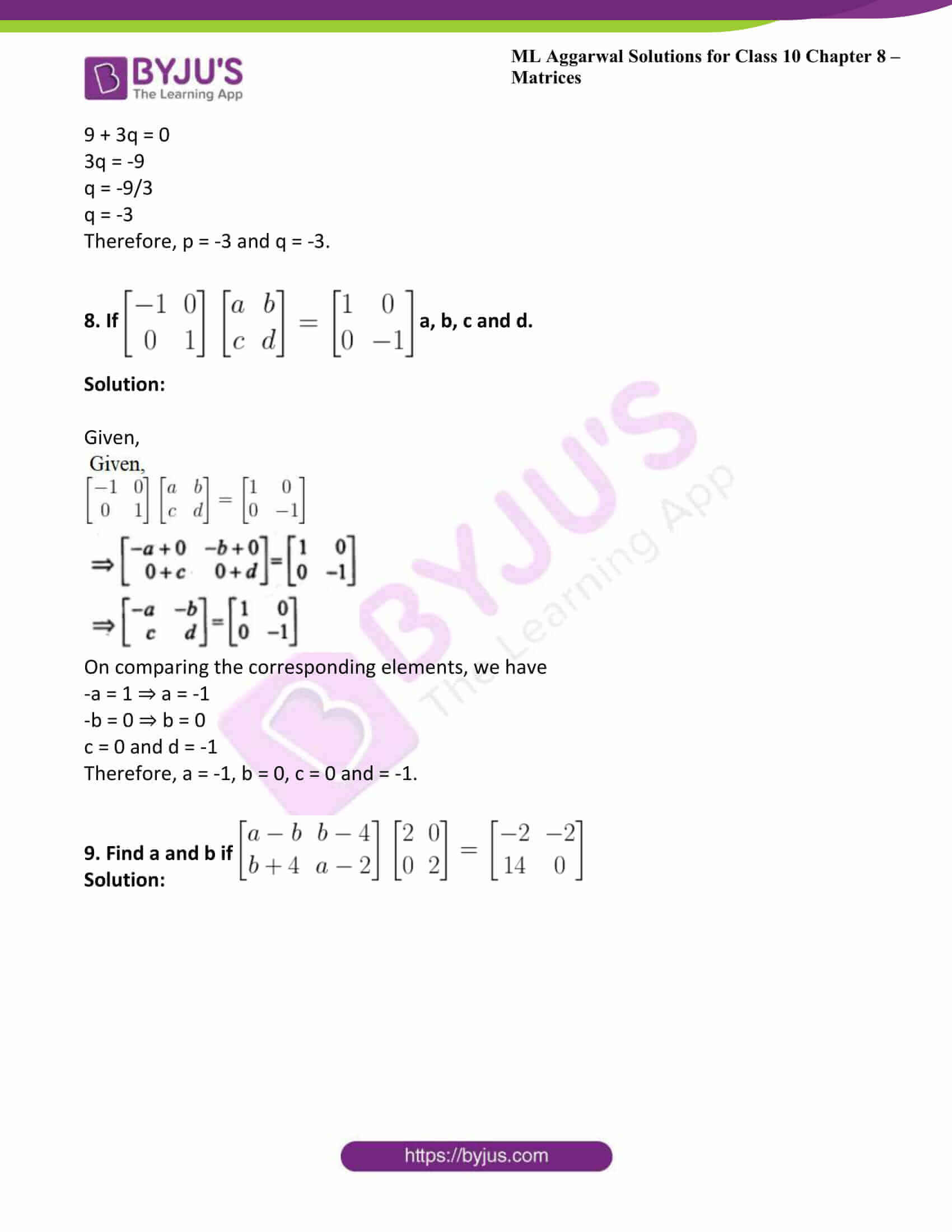 ml aggarwal solutions class 10 maths chapter 8 40