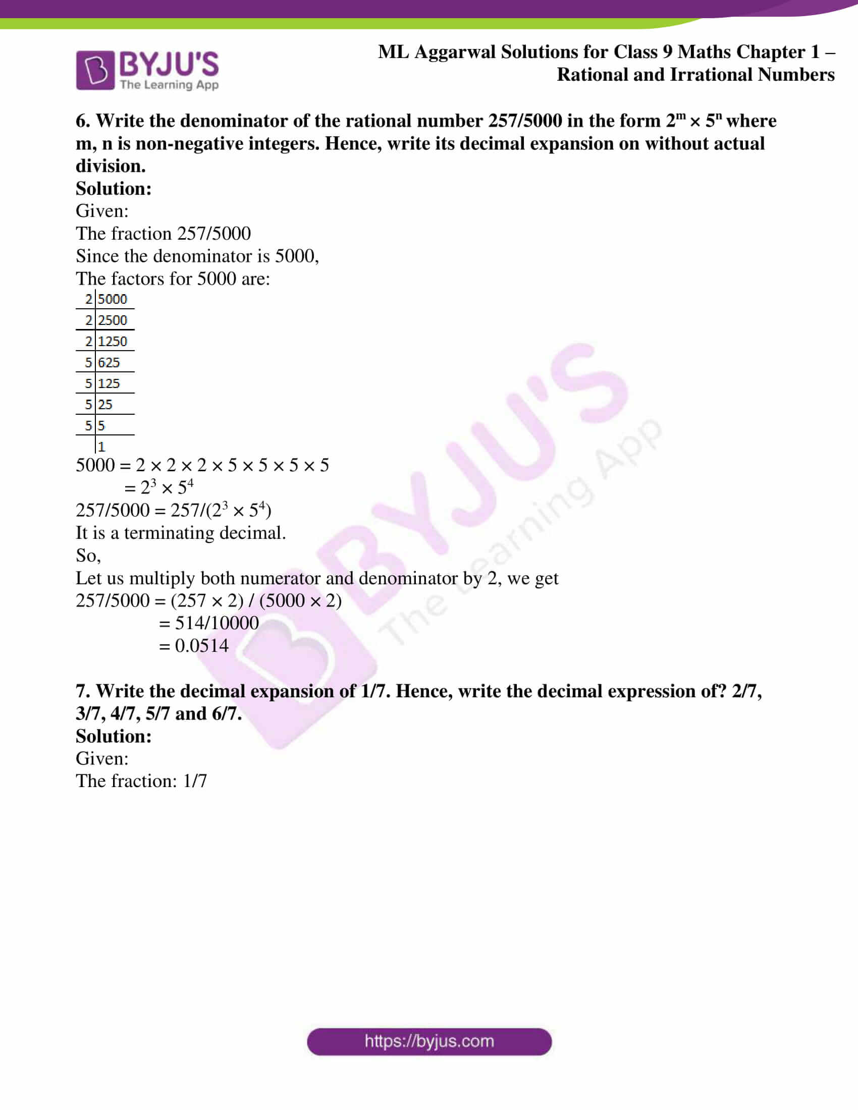 ml aggarwal solutions for class 9 maths chapter 1 27