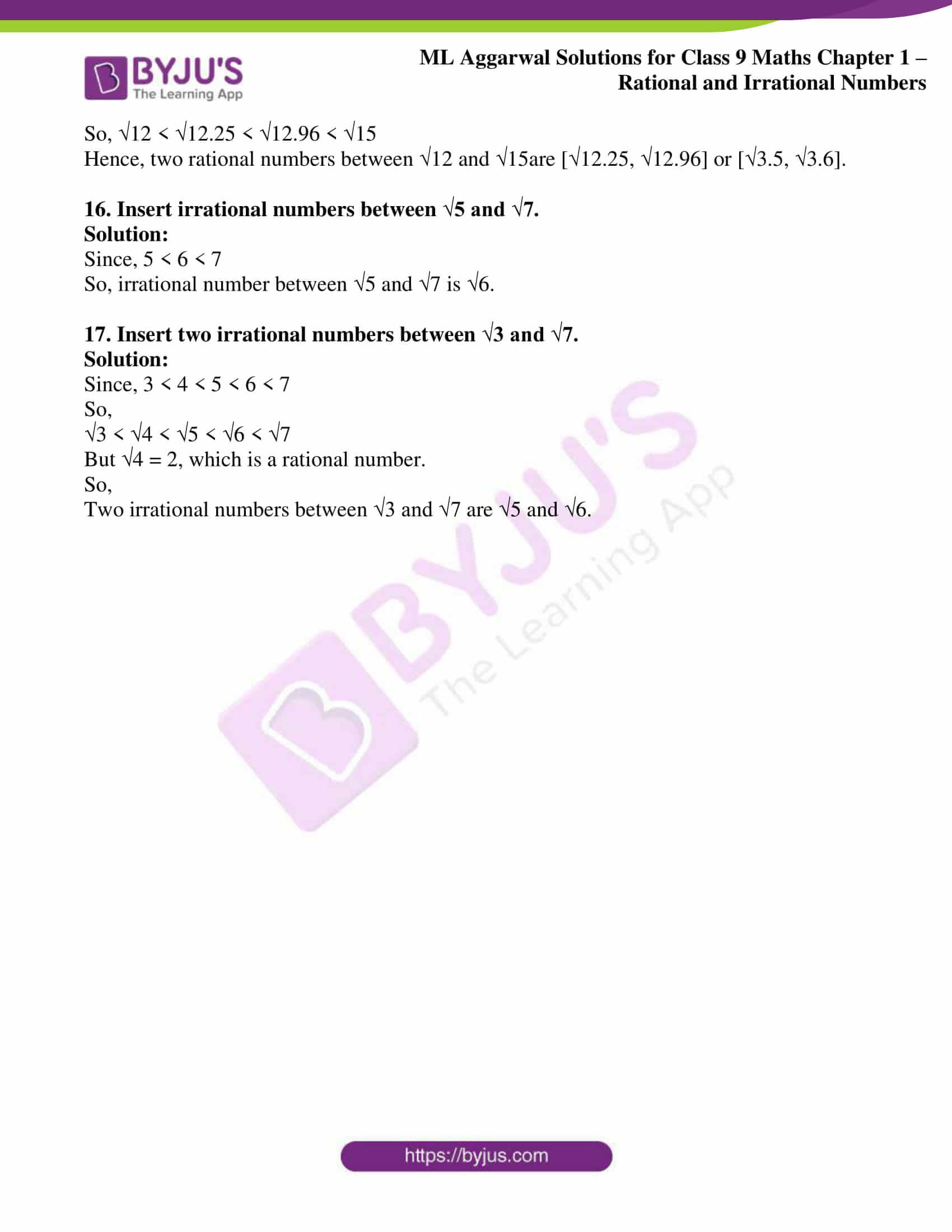 ml aggarwal solutions for class 9 maths chapter 1 36