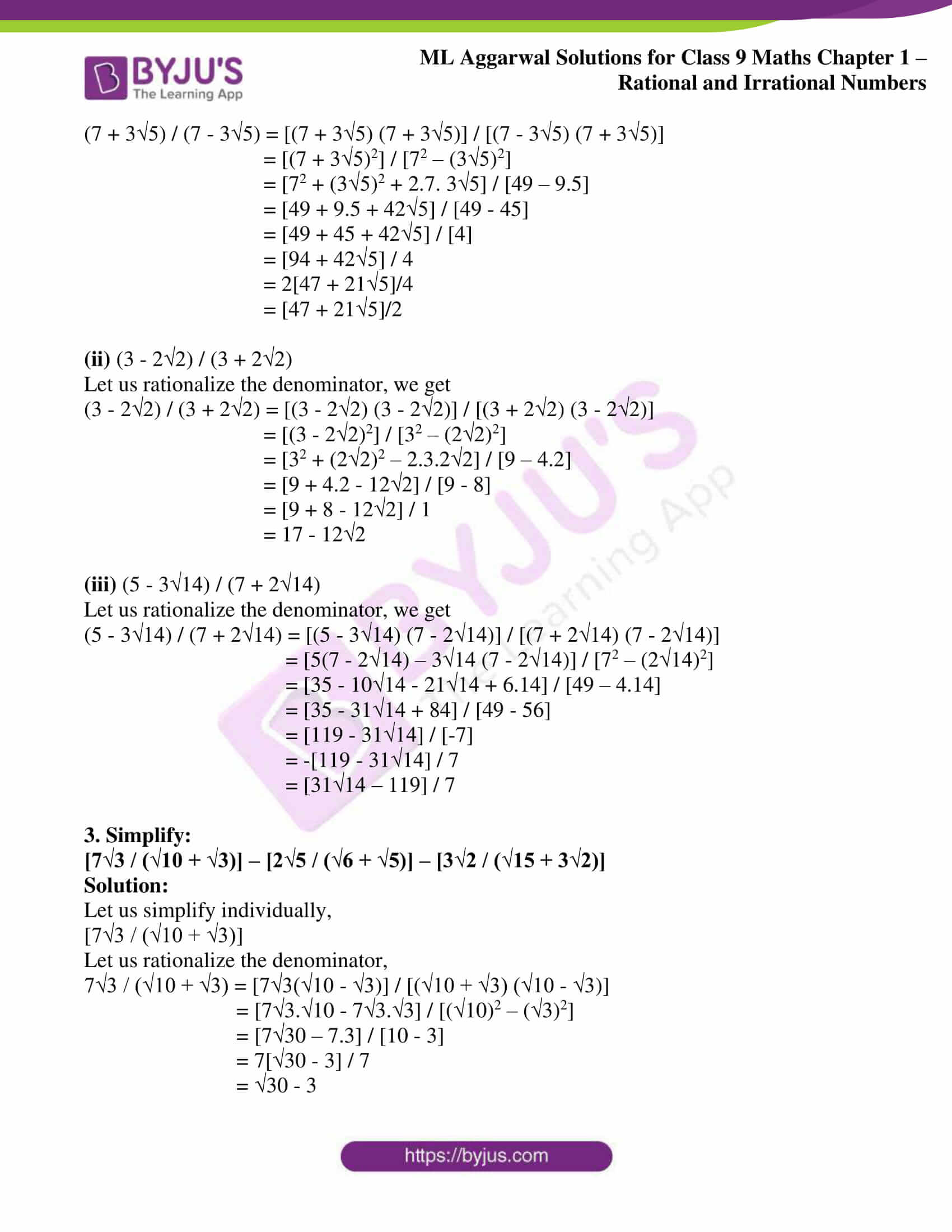 ml aggarwal solutions for class 9 maths chapter 1 51