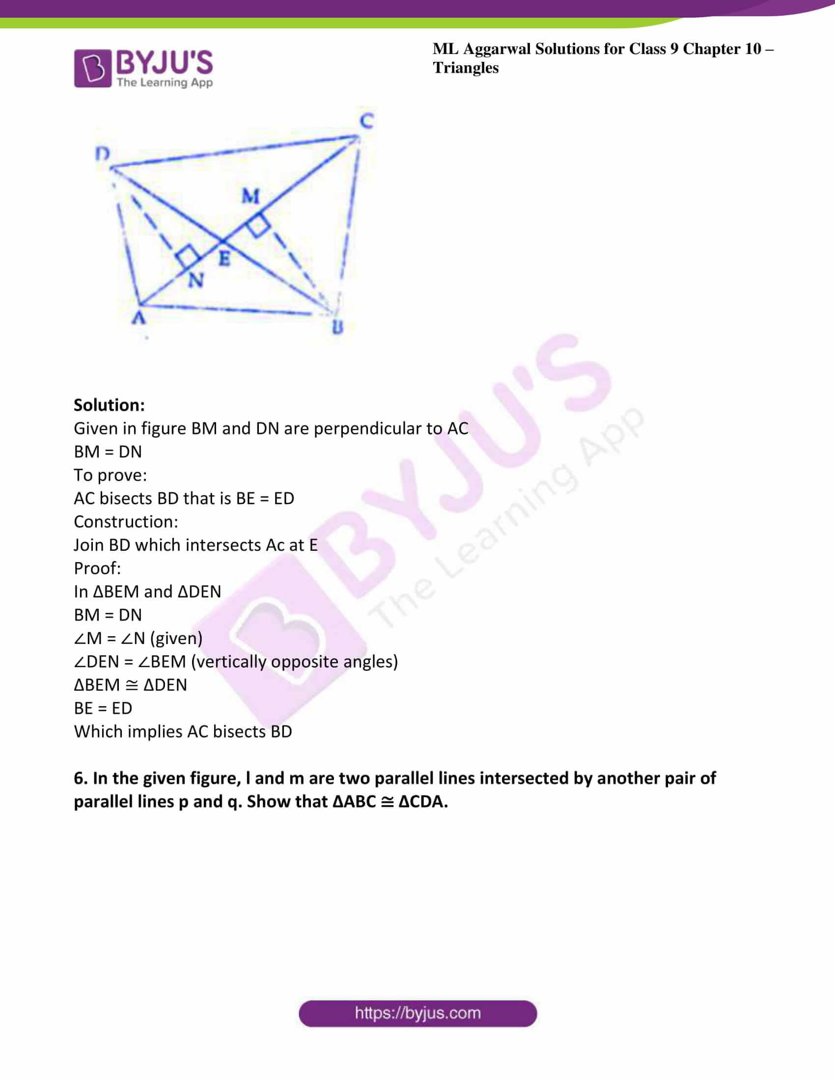 ml aggarwal solutions for class 9 maths chapter 10 12