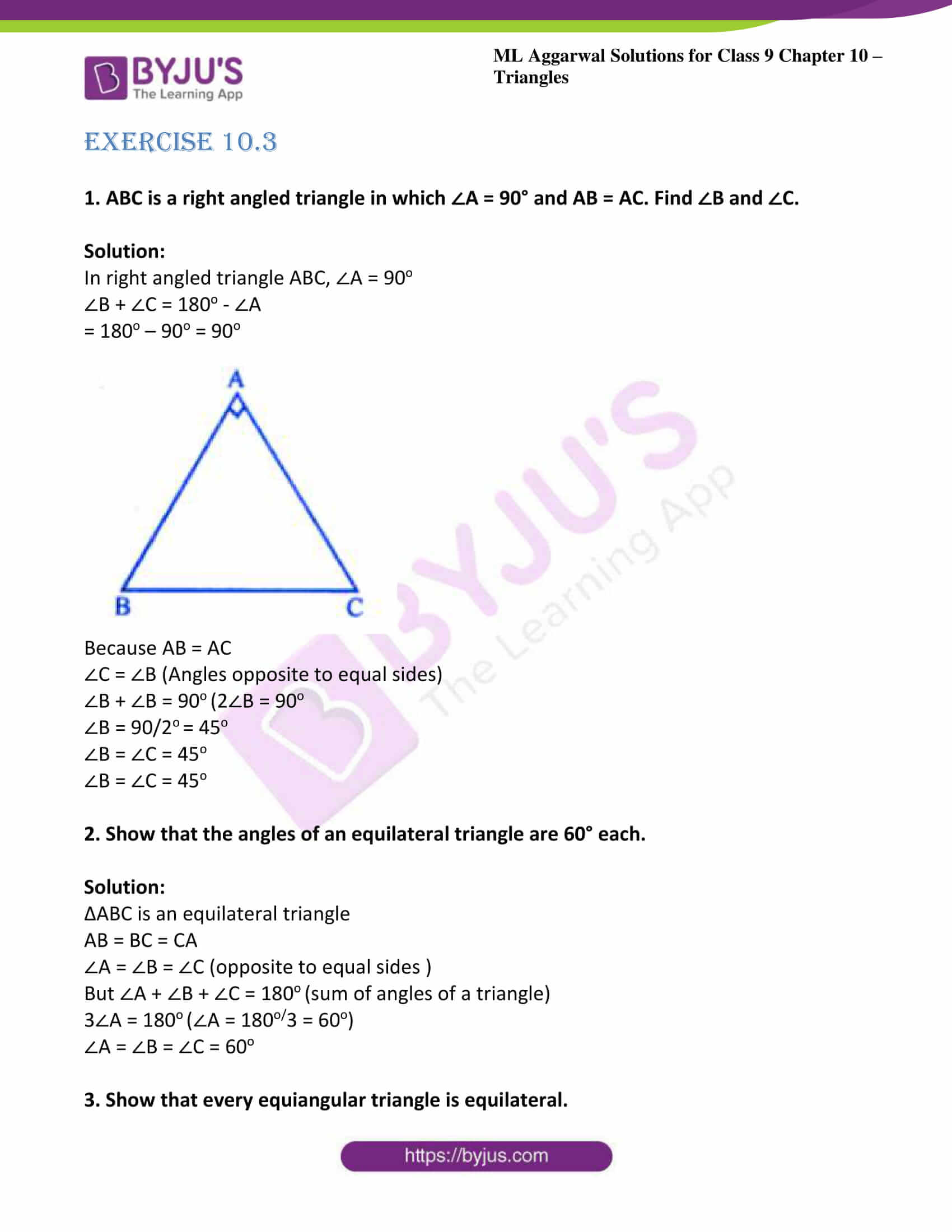 ml aggarwal solutions for class 9 maths chapter 10 15