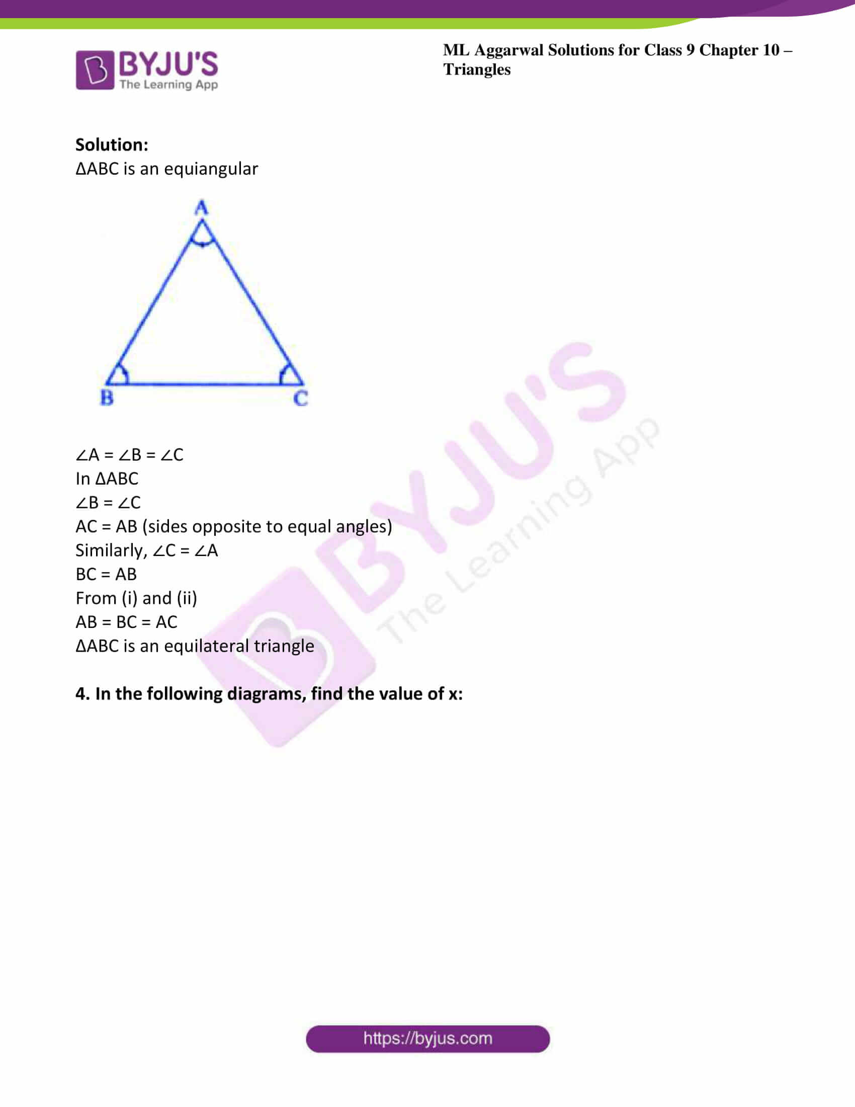 ml aggarwal solutions for class 9 maths chapter 10 16