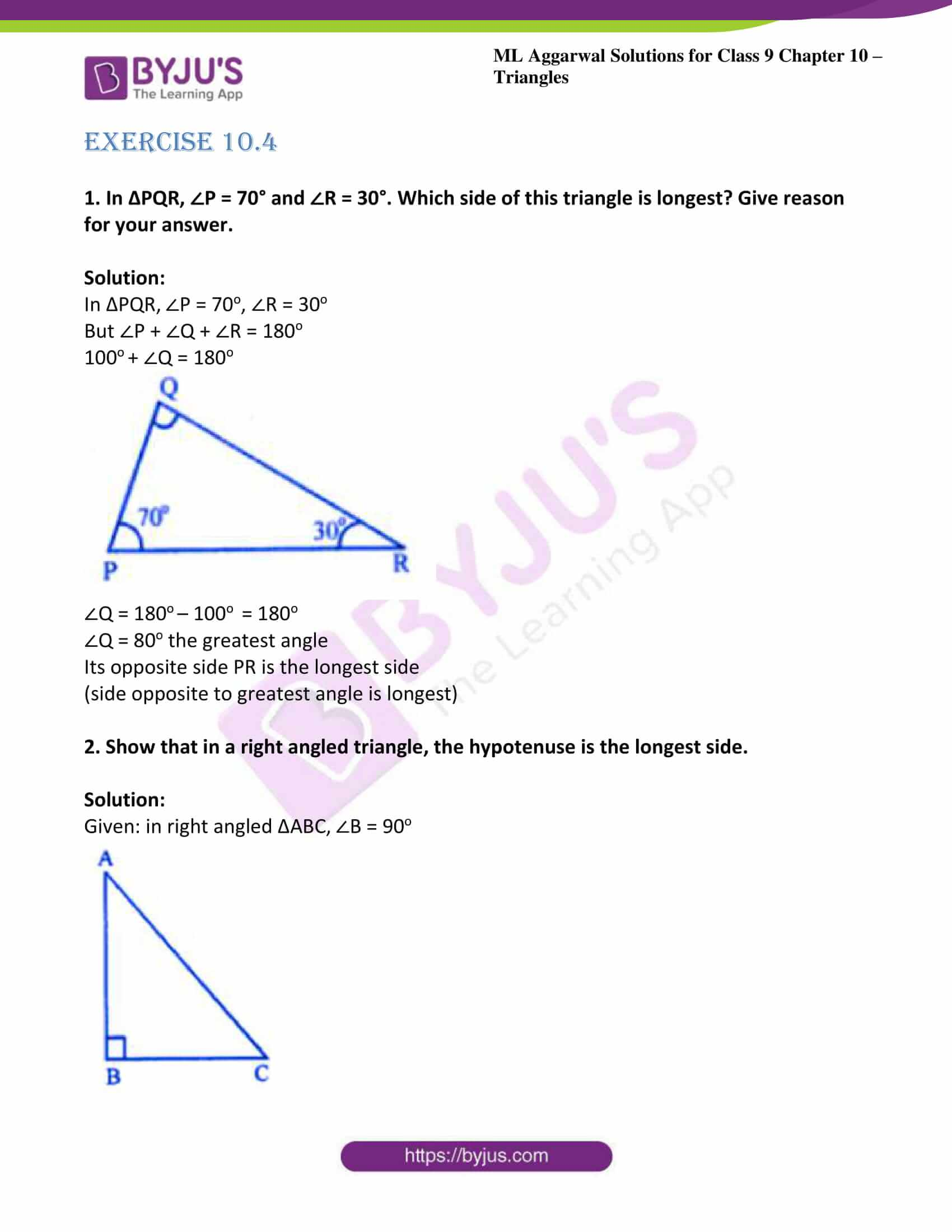 ml aggarwal solutions for class 9 maths chapter 10 25