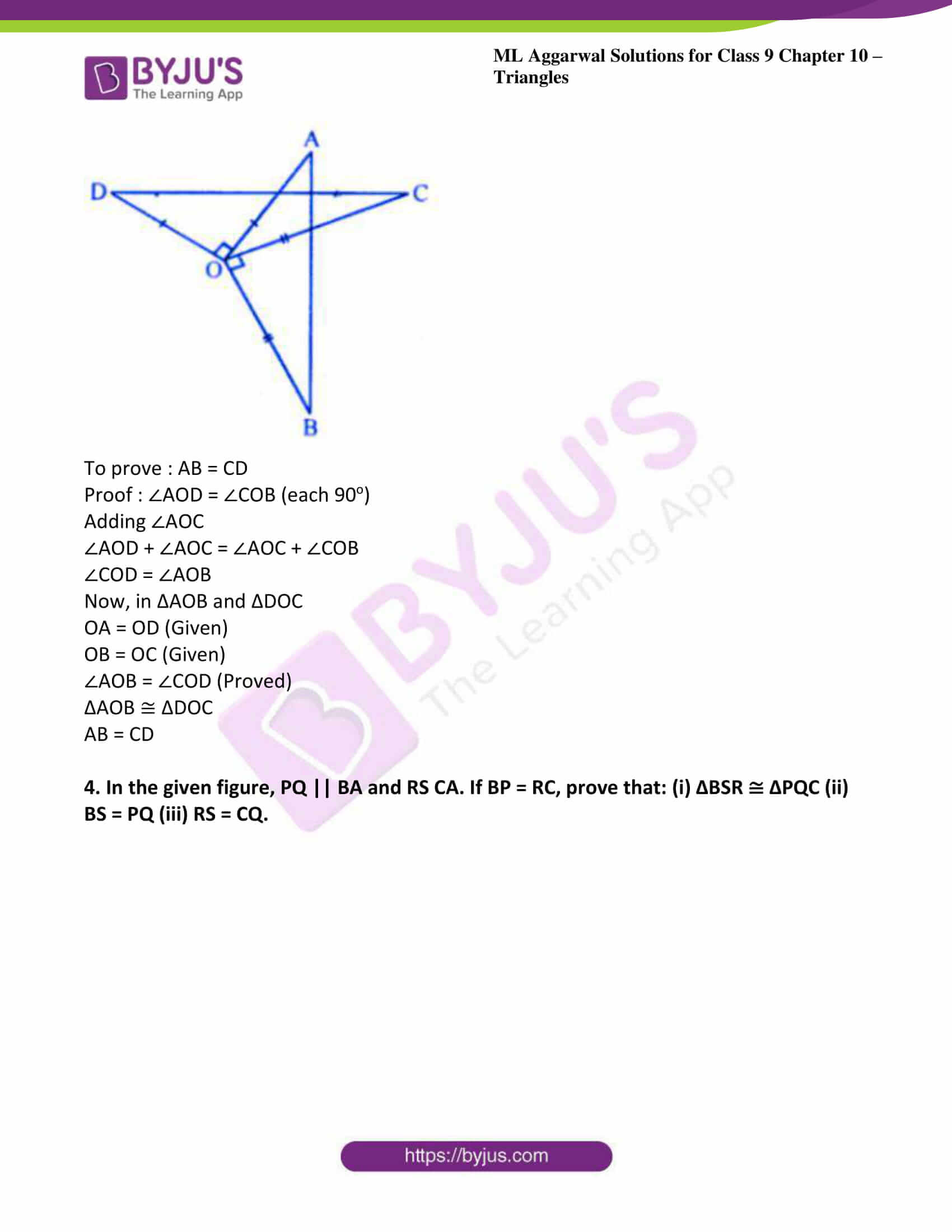 ml aggarwal solutions for class 9 maths chapter 10 30