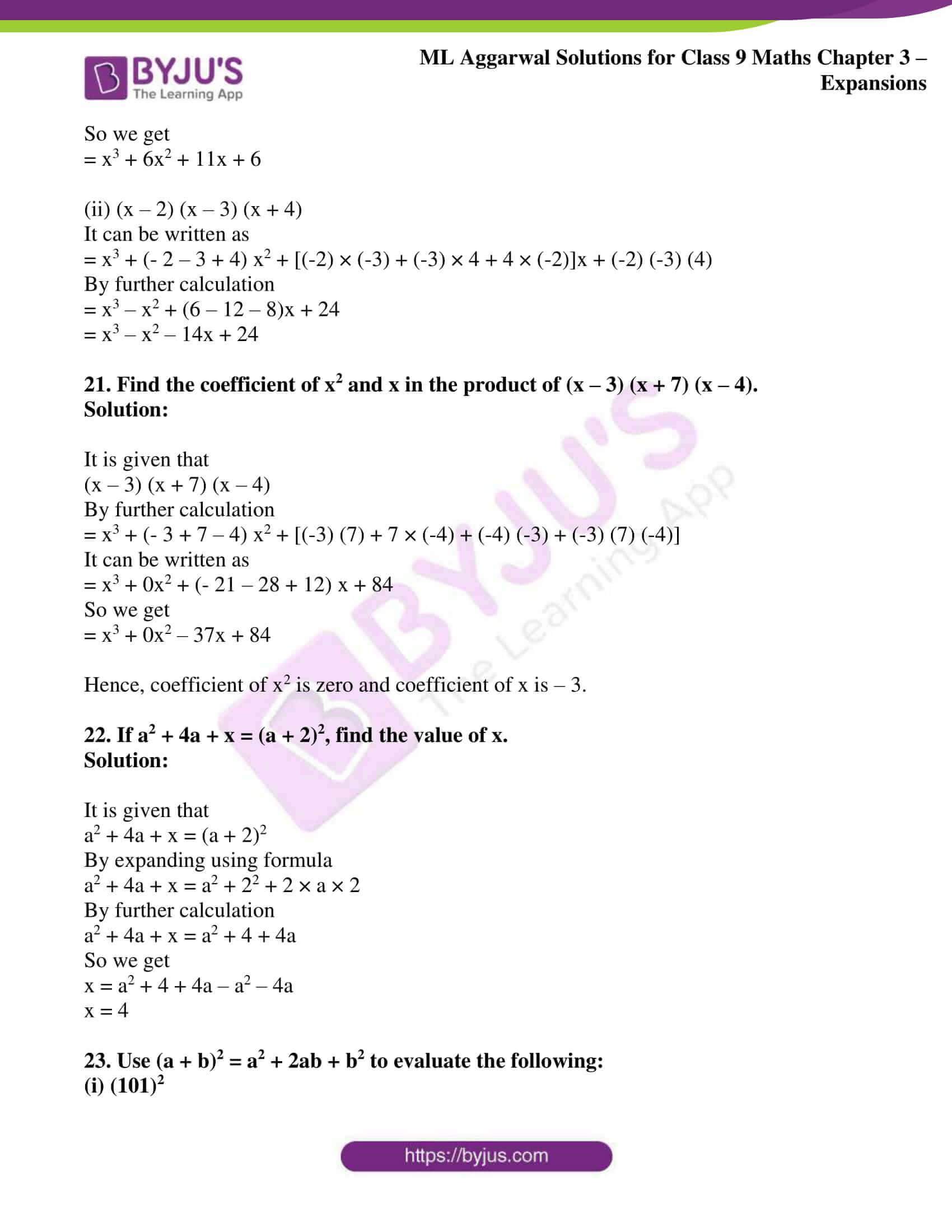 ml aggarwal solutions for class 9 maths chapter 3 12