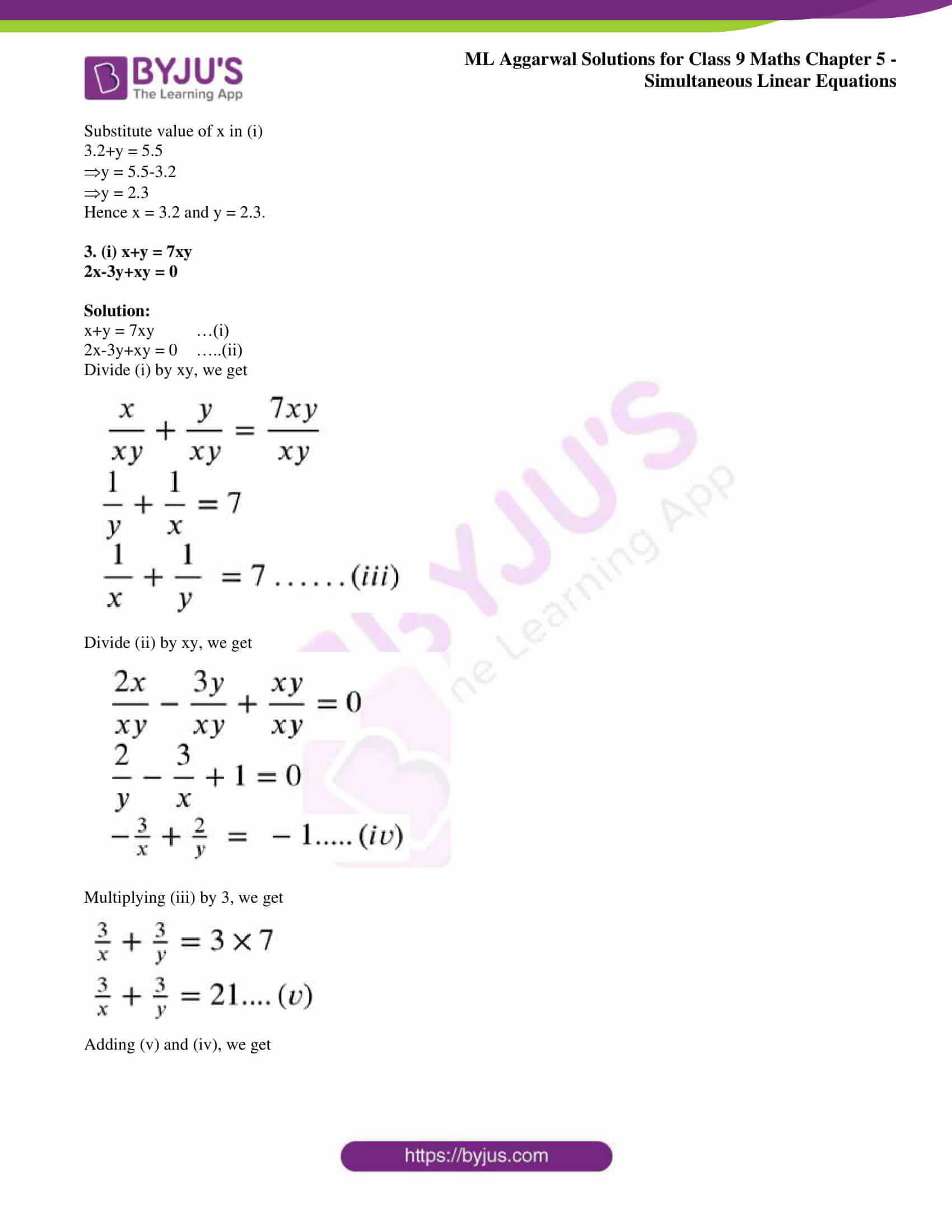 ml aggarwal solutions for class 9 maths chapter 5 32