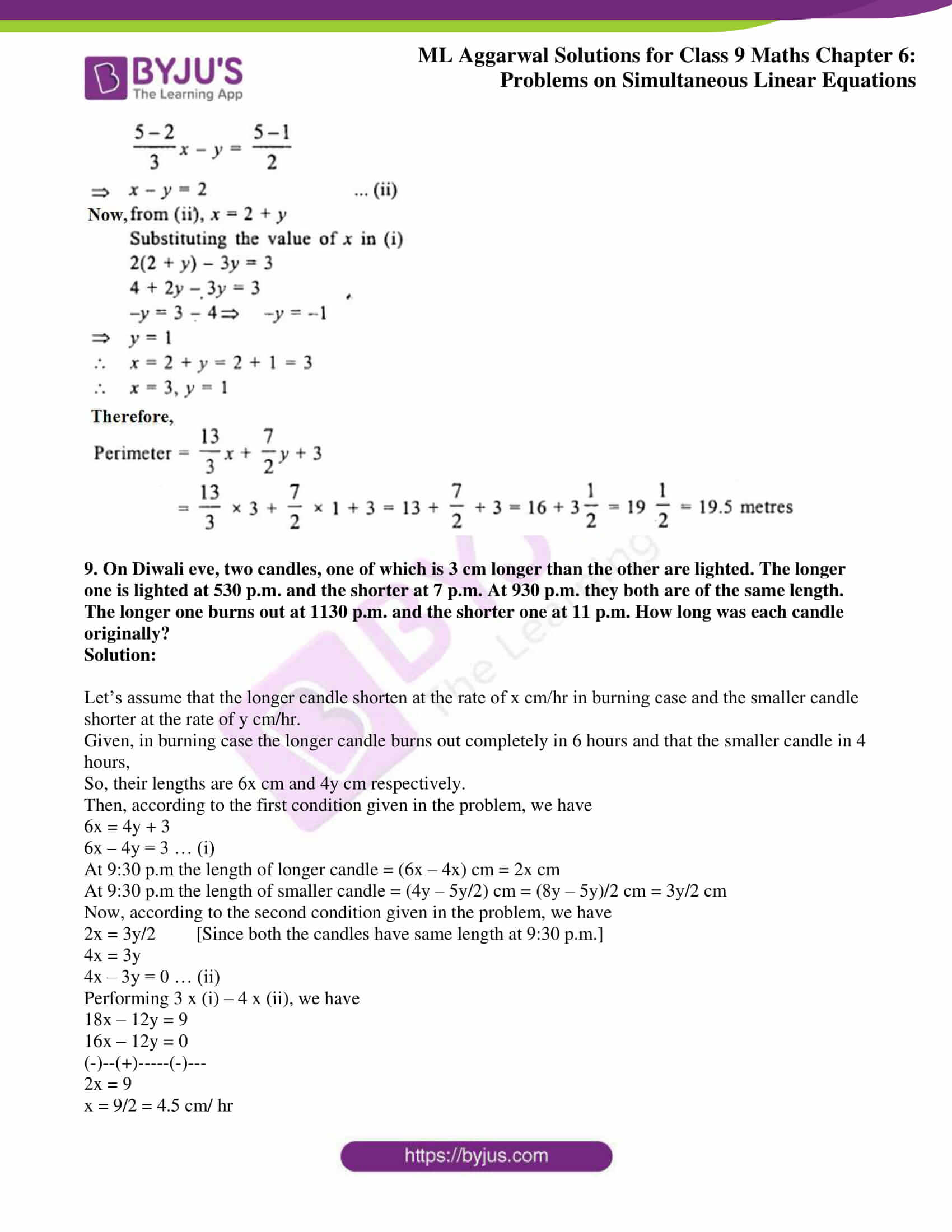 ml aggarwal solutions for class 9 maths chapter 6 26