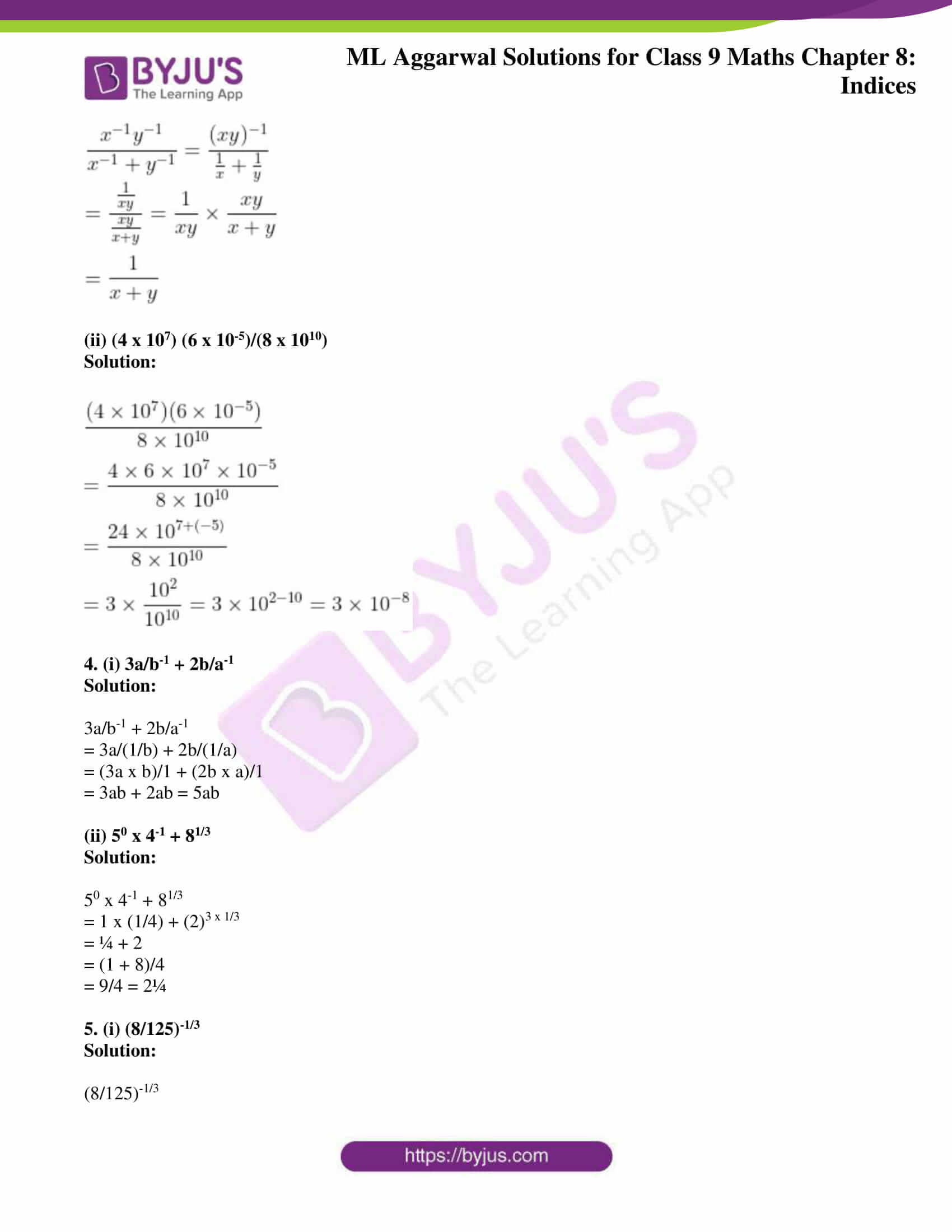 ml aggarwal solutions for class 9 maths chapter 8 02