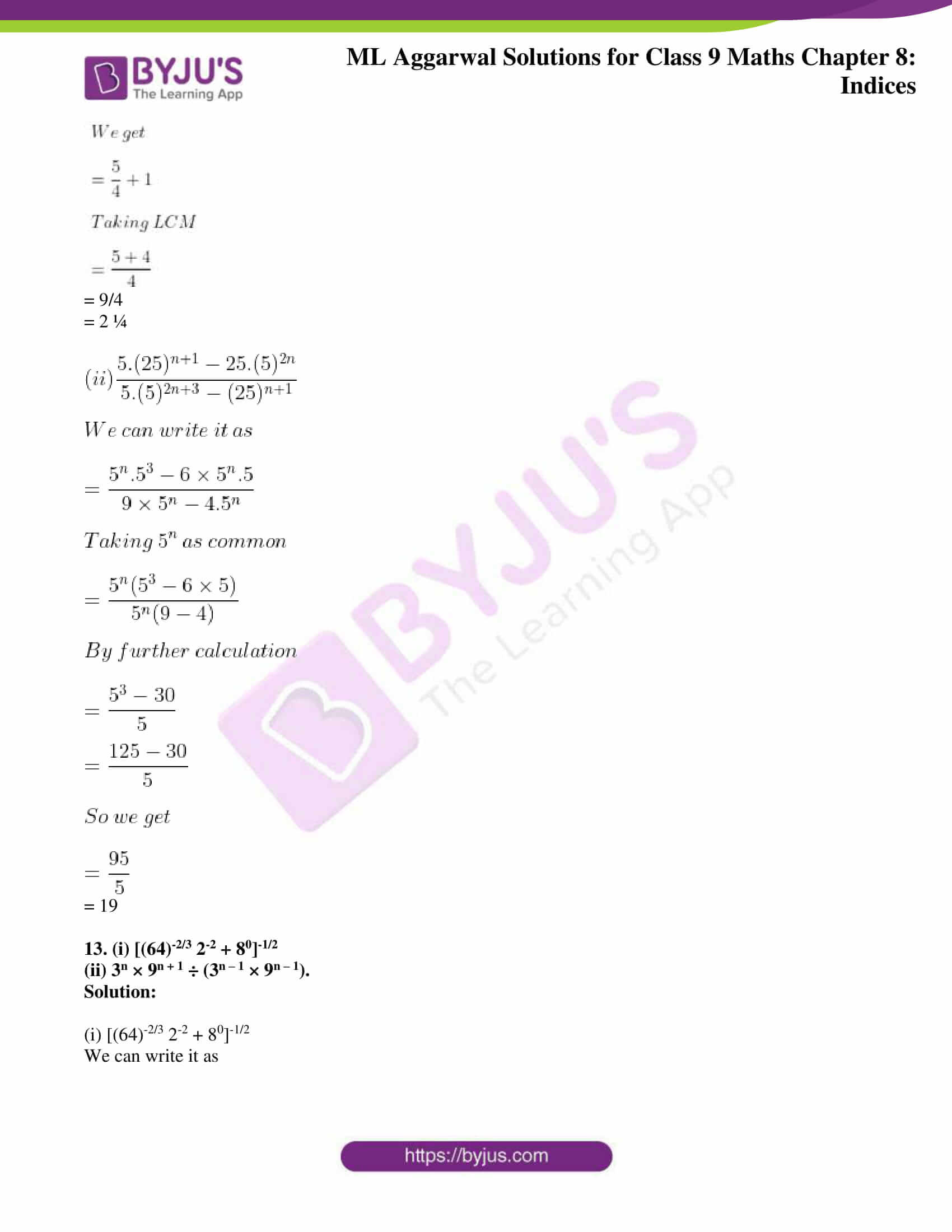ml aggarwal solutions for class 9 maths chapter 8 12