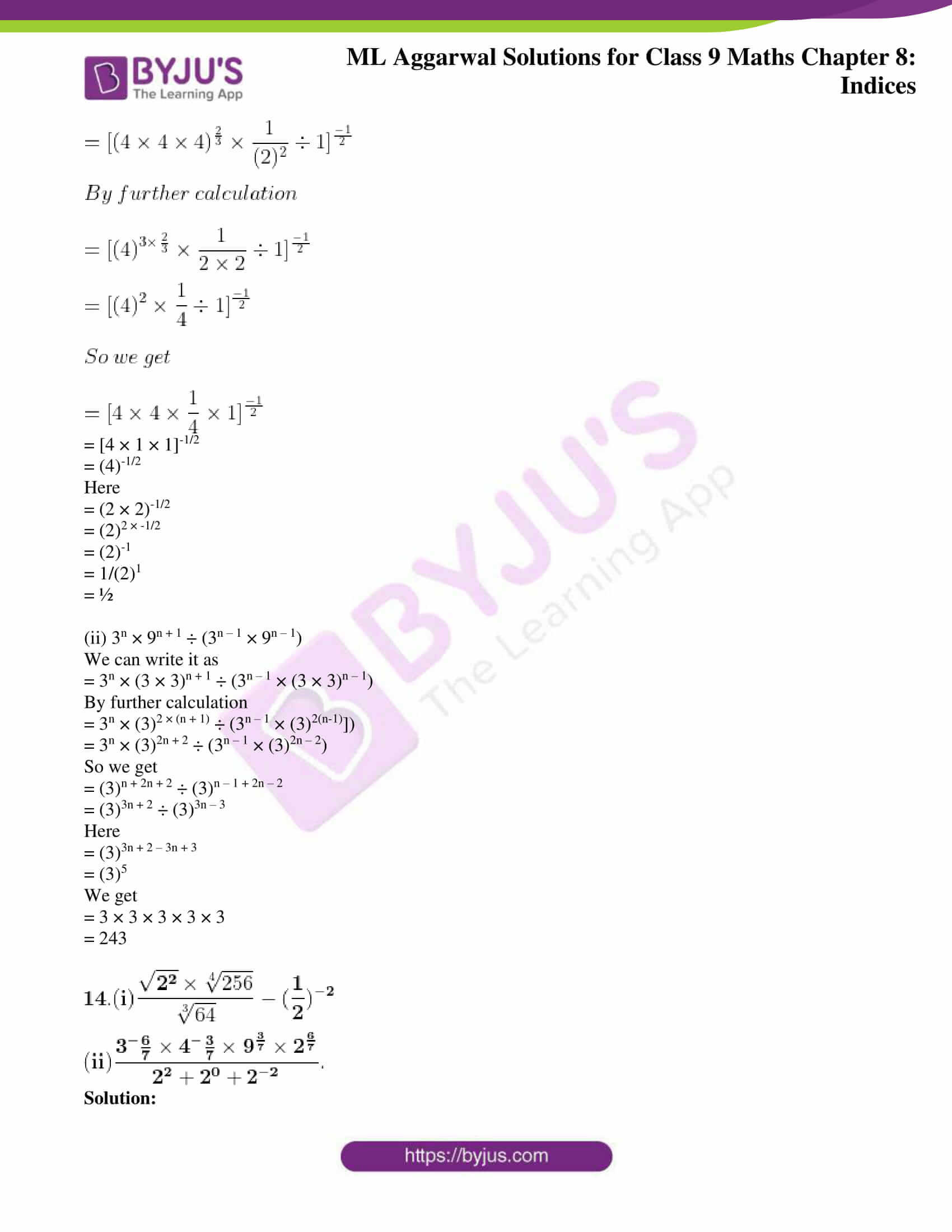 ml aggarwal solutions for class 9 maths chapter 8 13