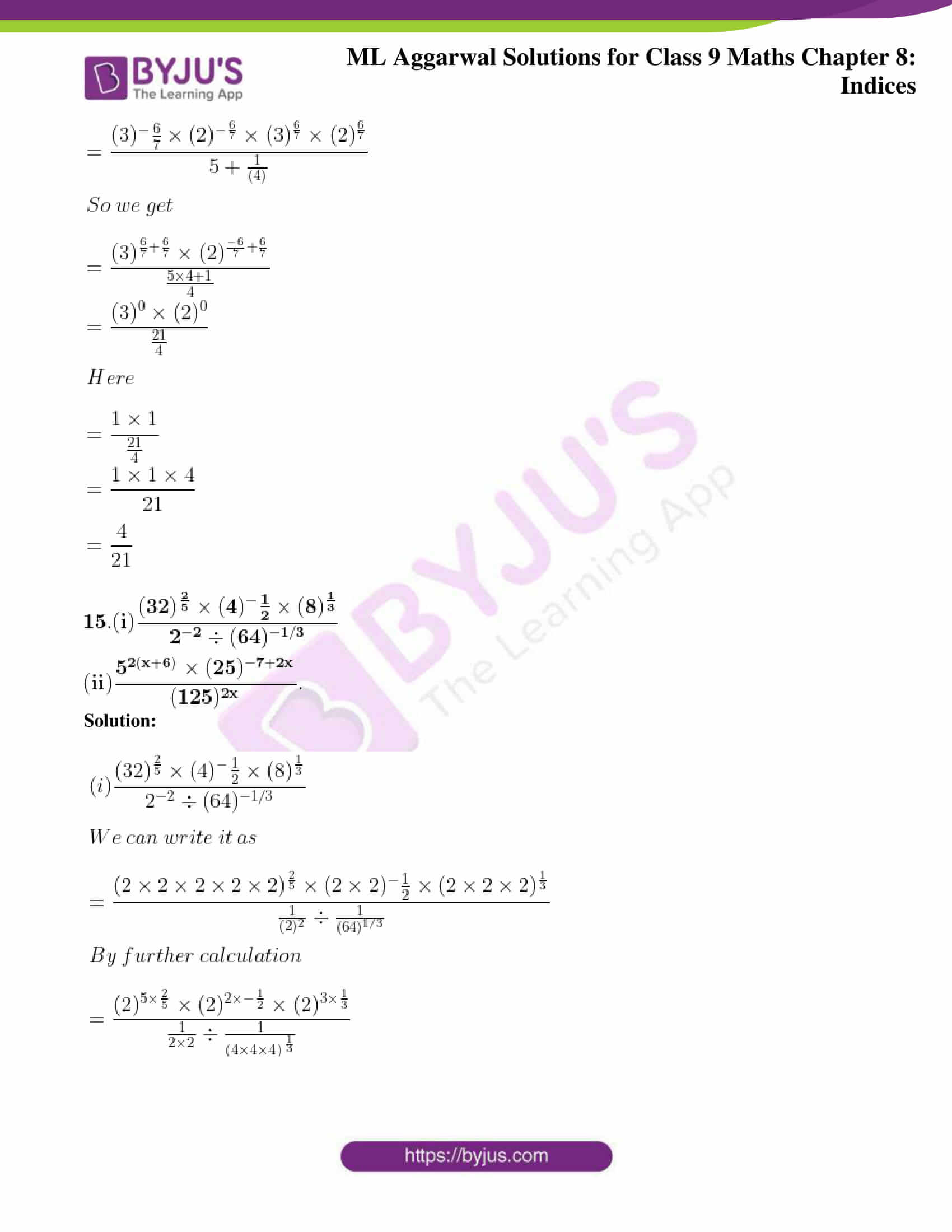 ml aggarwal solutions for class 9 maths chapter 8 15