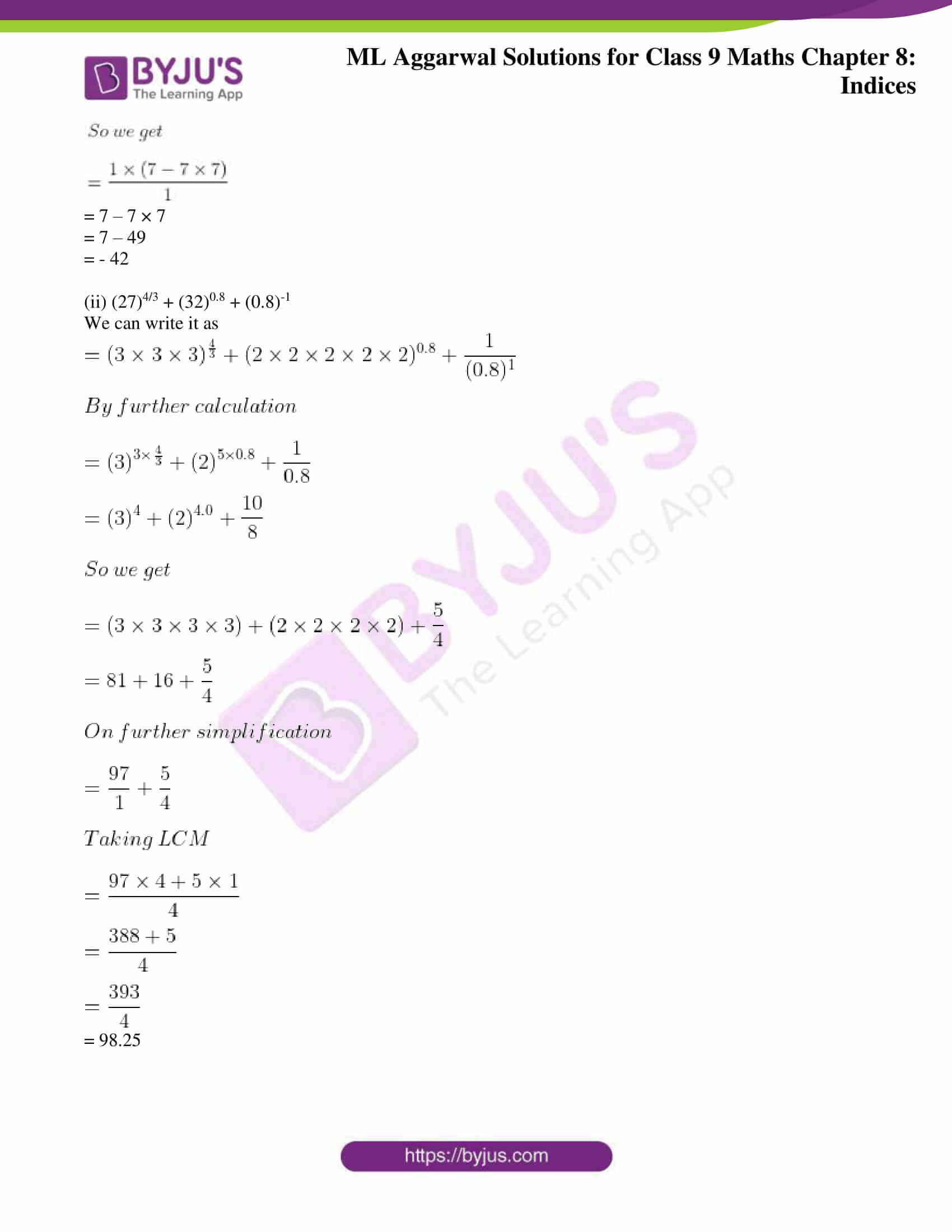 ml aggarwal solutions for class 9 maths chapter 8 18