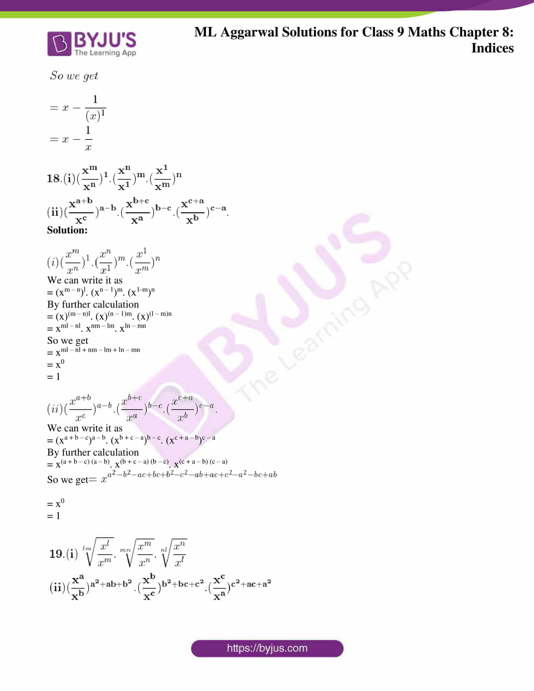 ml aggarwal solutions for class 9 maths chapter 8 20